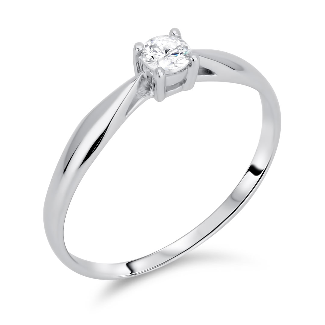 Diamond Solitaire Rings SGR513 (Rings)