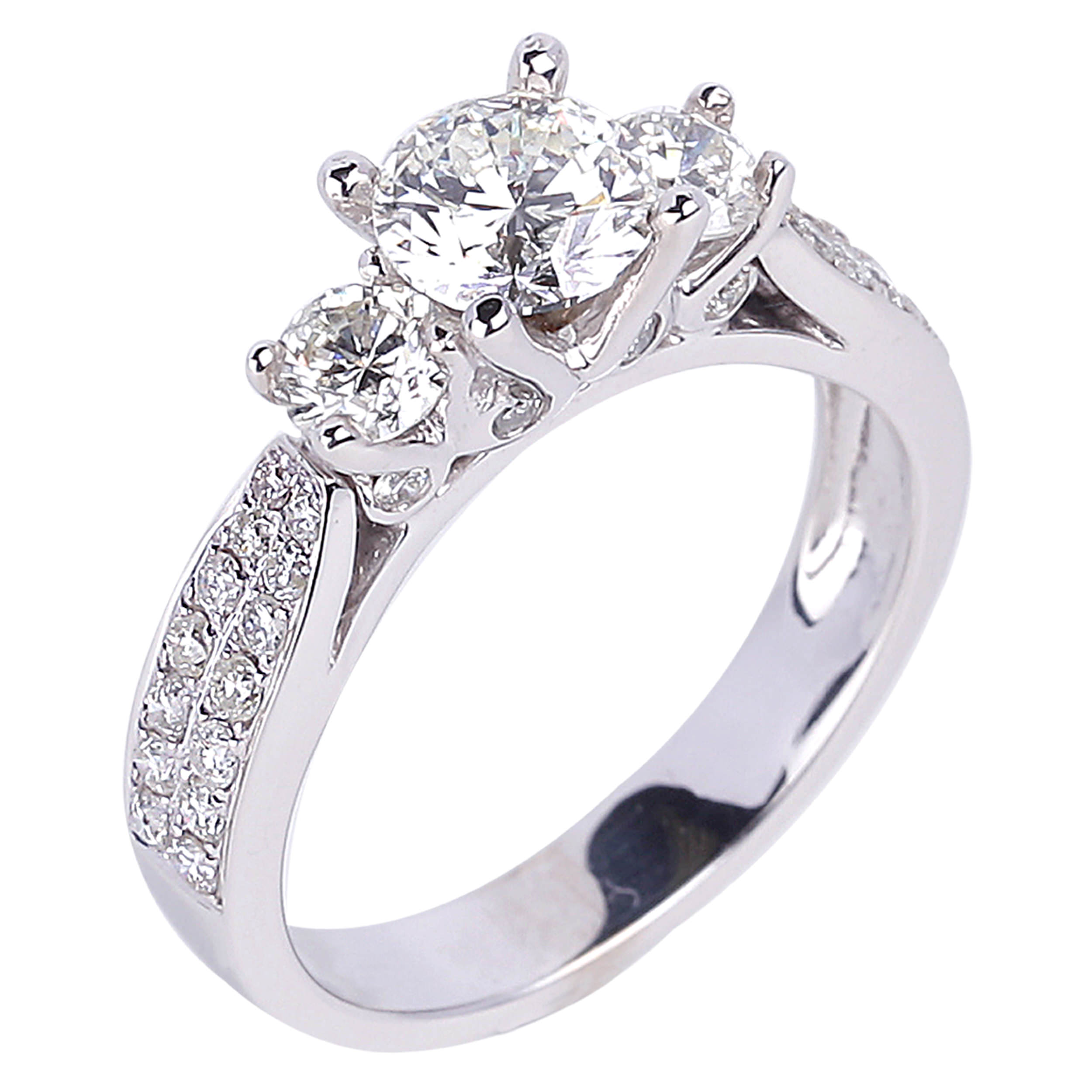 Diamond Engagement Rings SGR247 (Rings)