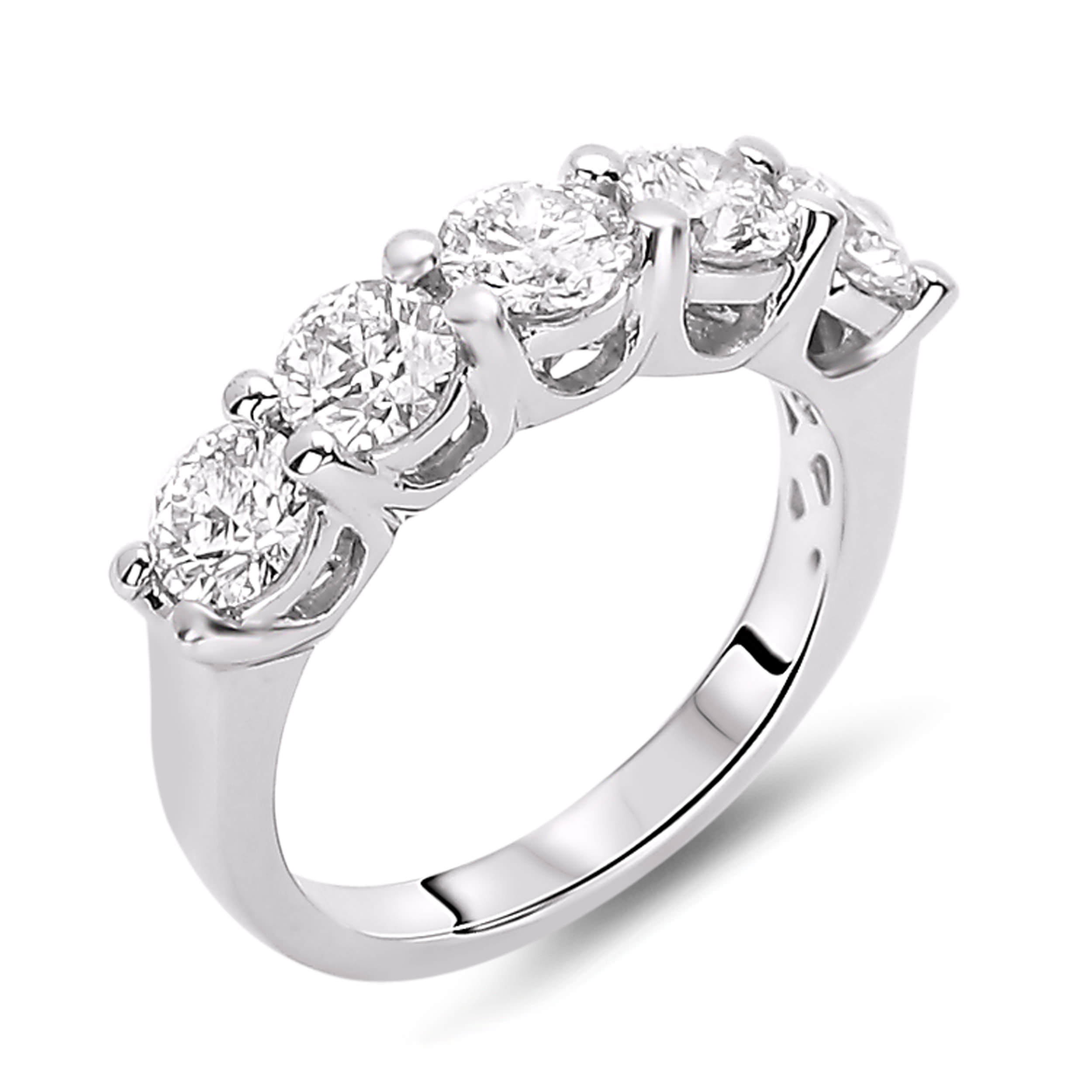 g in gold wedding vs set jewellery h stone anniversary five cut ring bar diamond white rings round