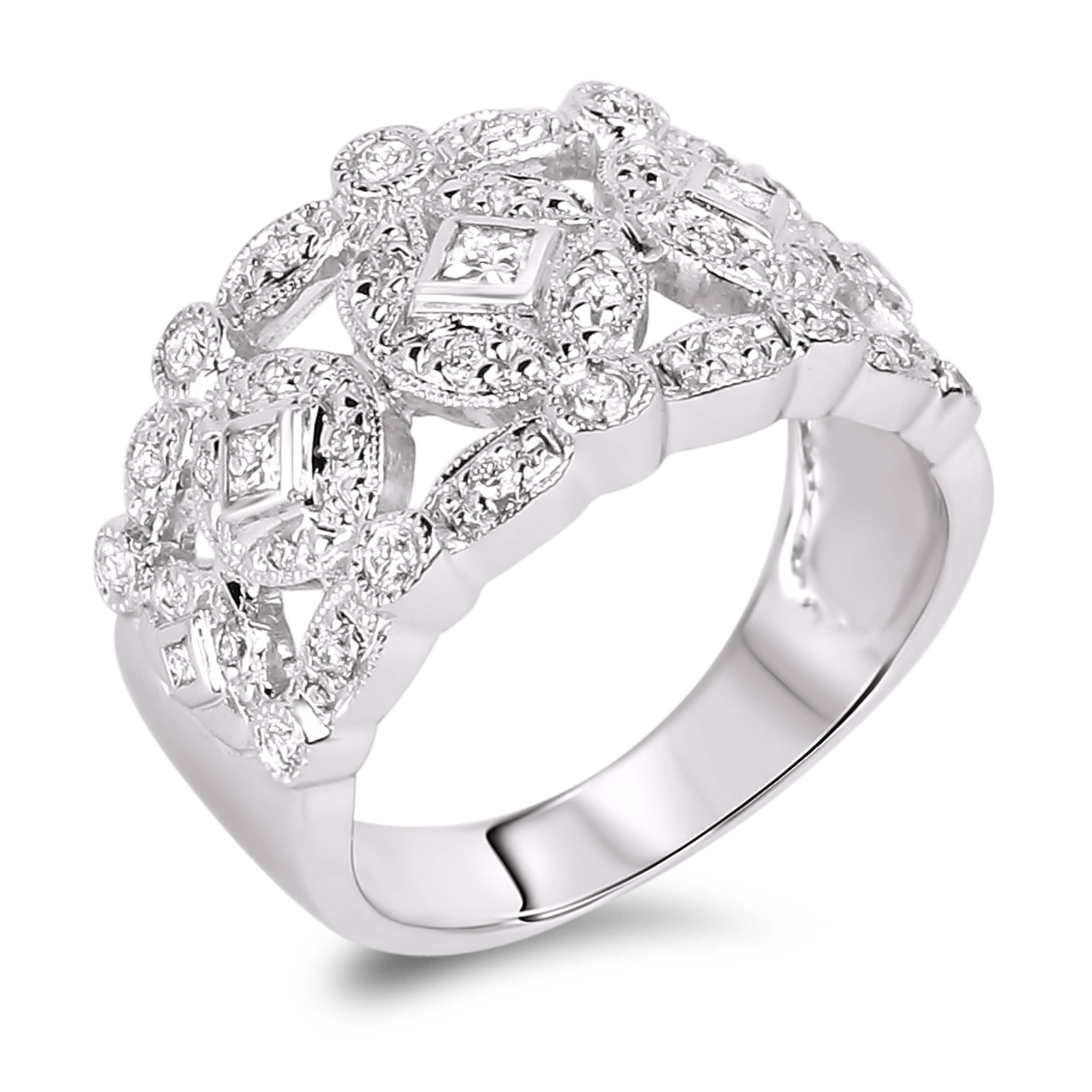 product details collection fine gent anaya diamond anniversary jewellery rings