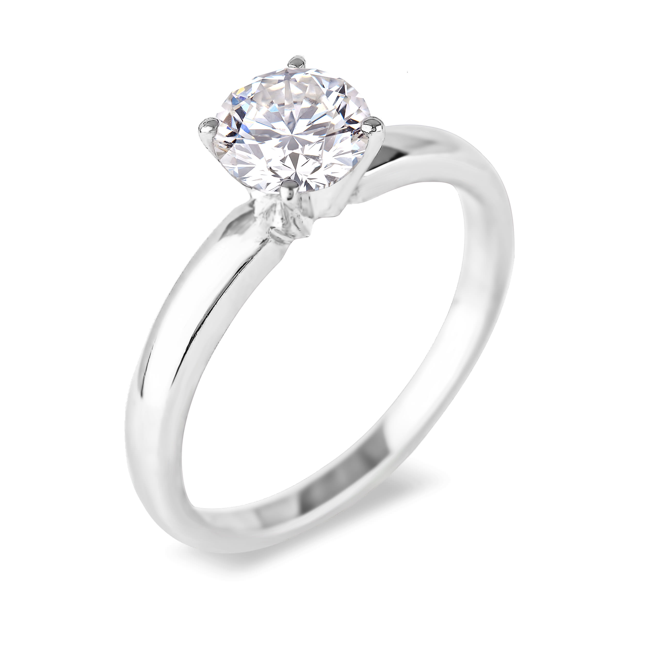 Diamond Solitaire Rings SGR516 (Rings)