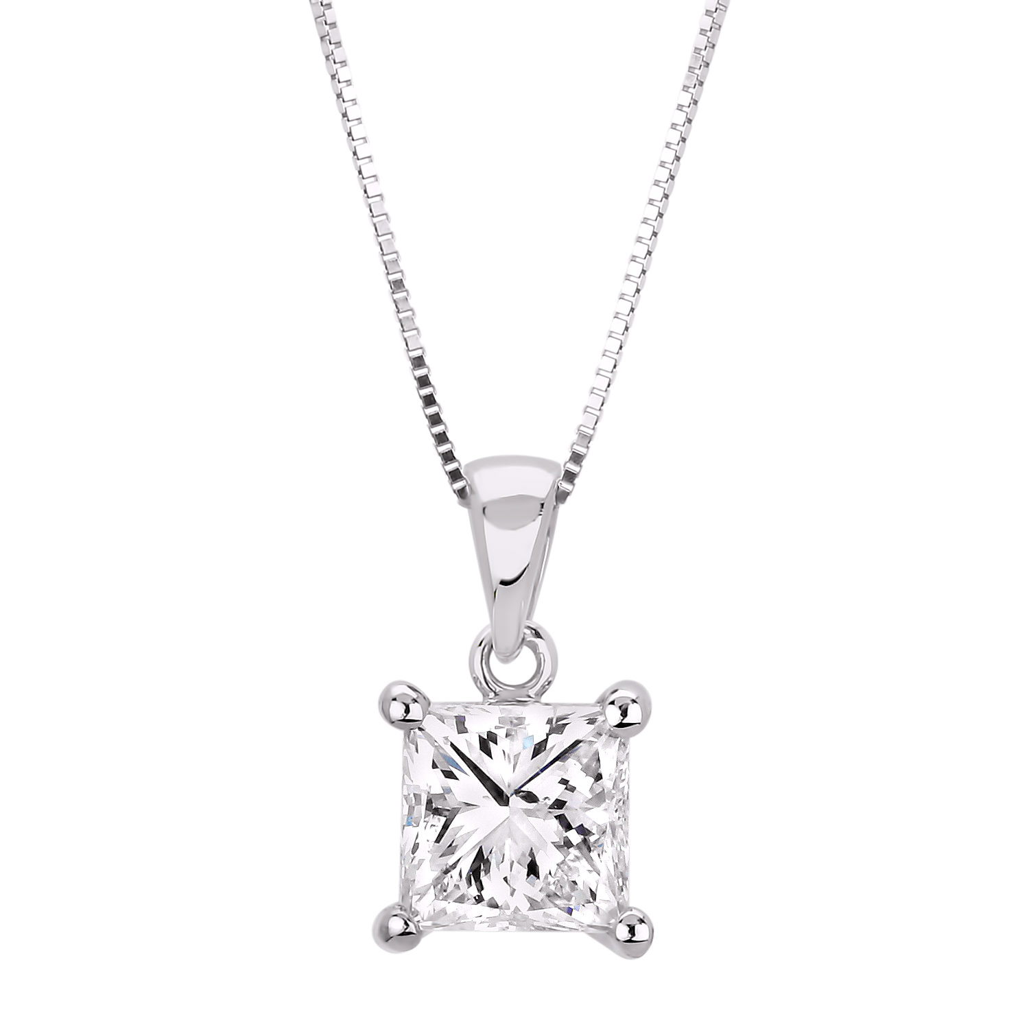 Diamond Solitaire Pendants SEC-P993 (Pendants)