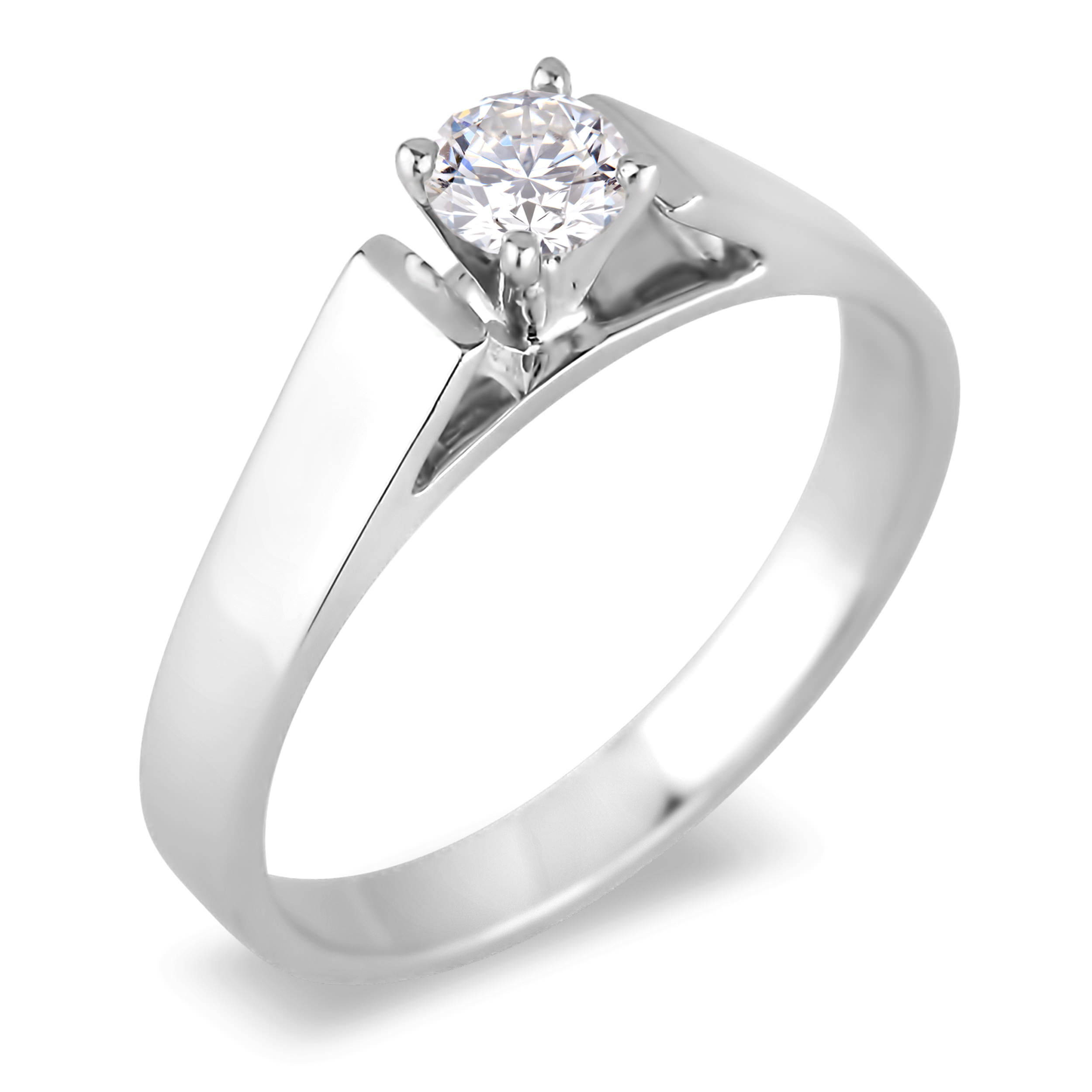 Diamond Solitaire Rings SGR514 (Rings)