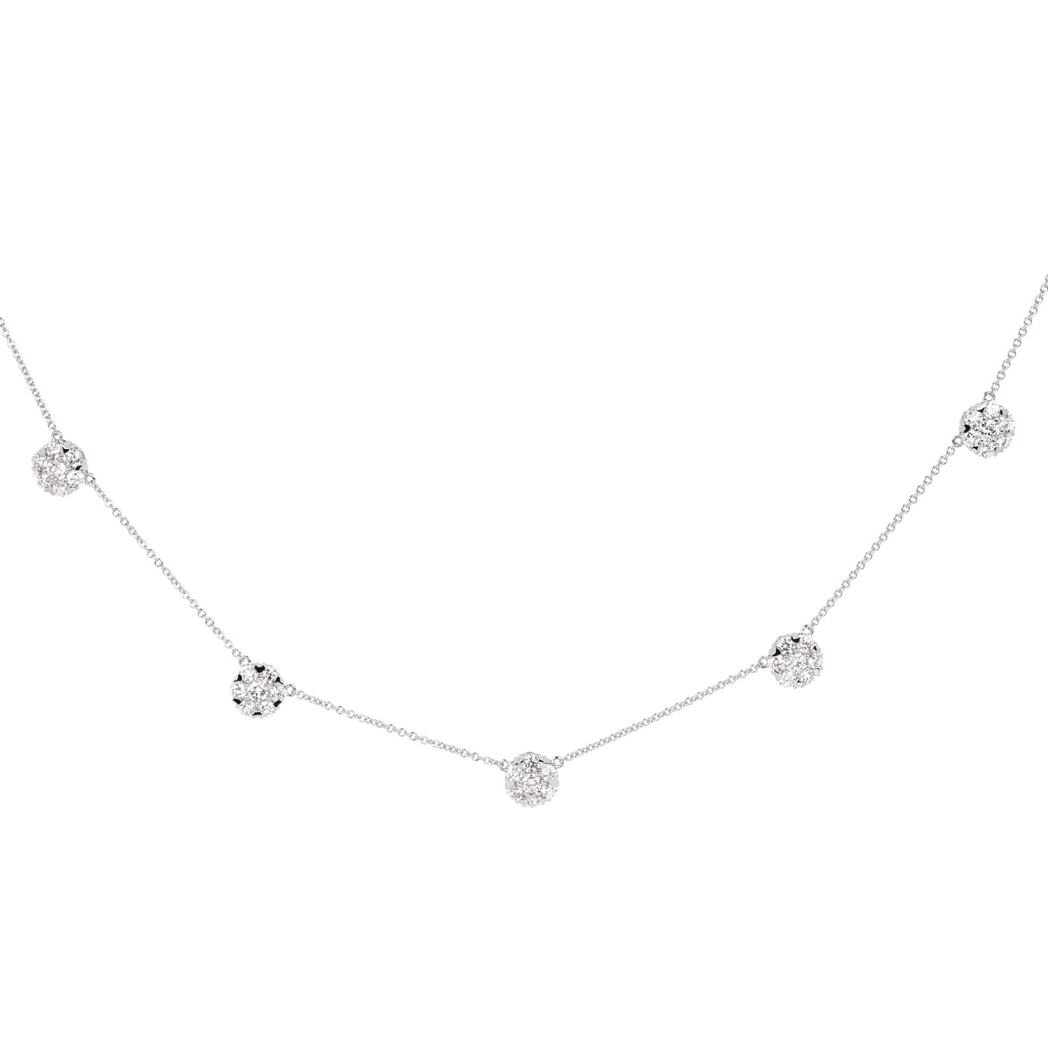 Diamond Necklaces SGE253SMP (Pendants)