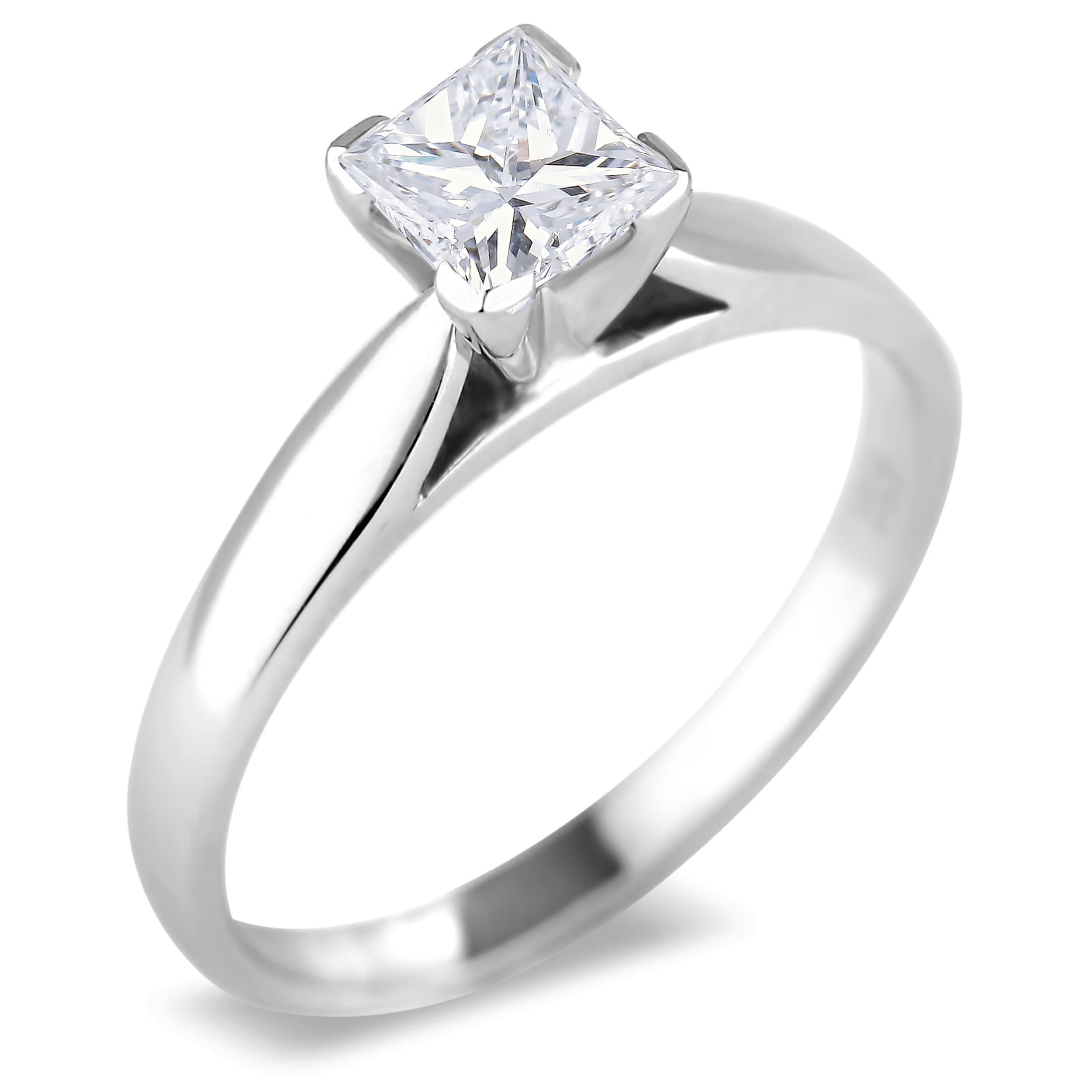 Diamond Solitaire Rings SGR520PC (Rings)