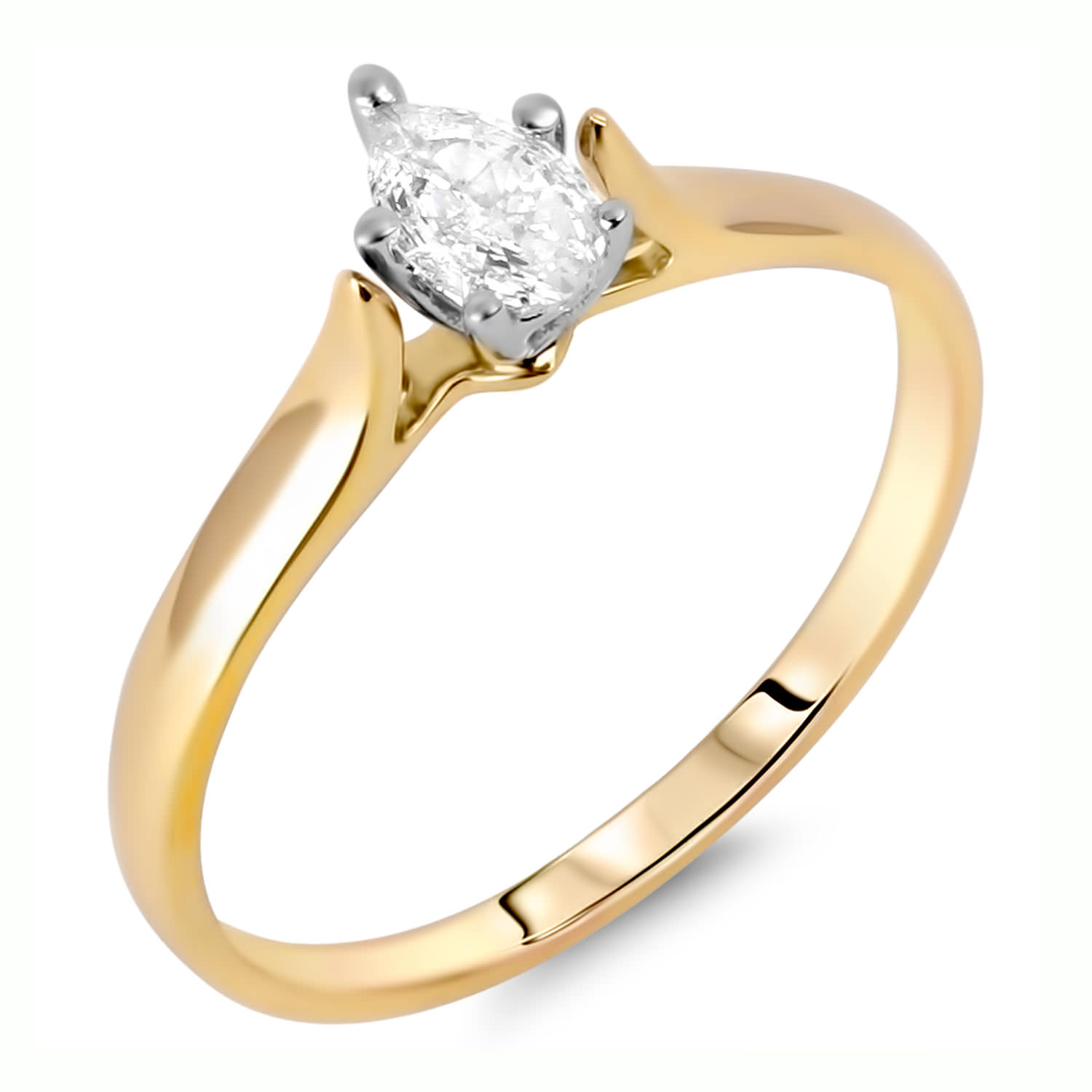 Diamond Solitaire Rings SEC2109 (Rings)