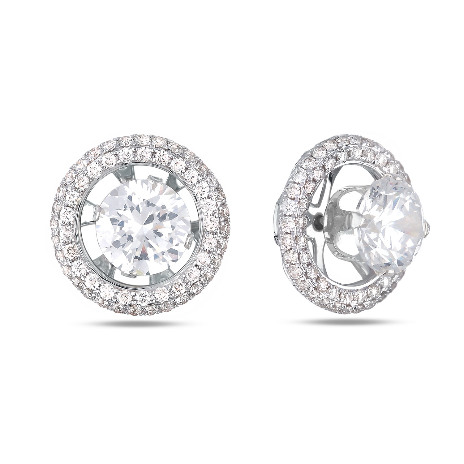Diamond Stud Earrings SGE274 (Earrings)