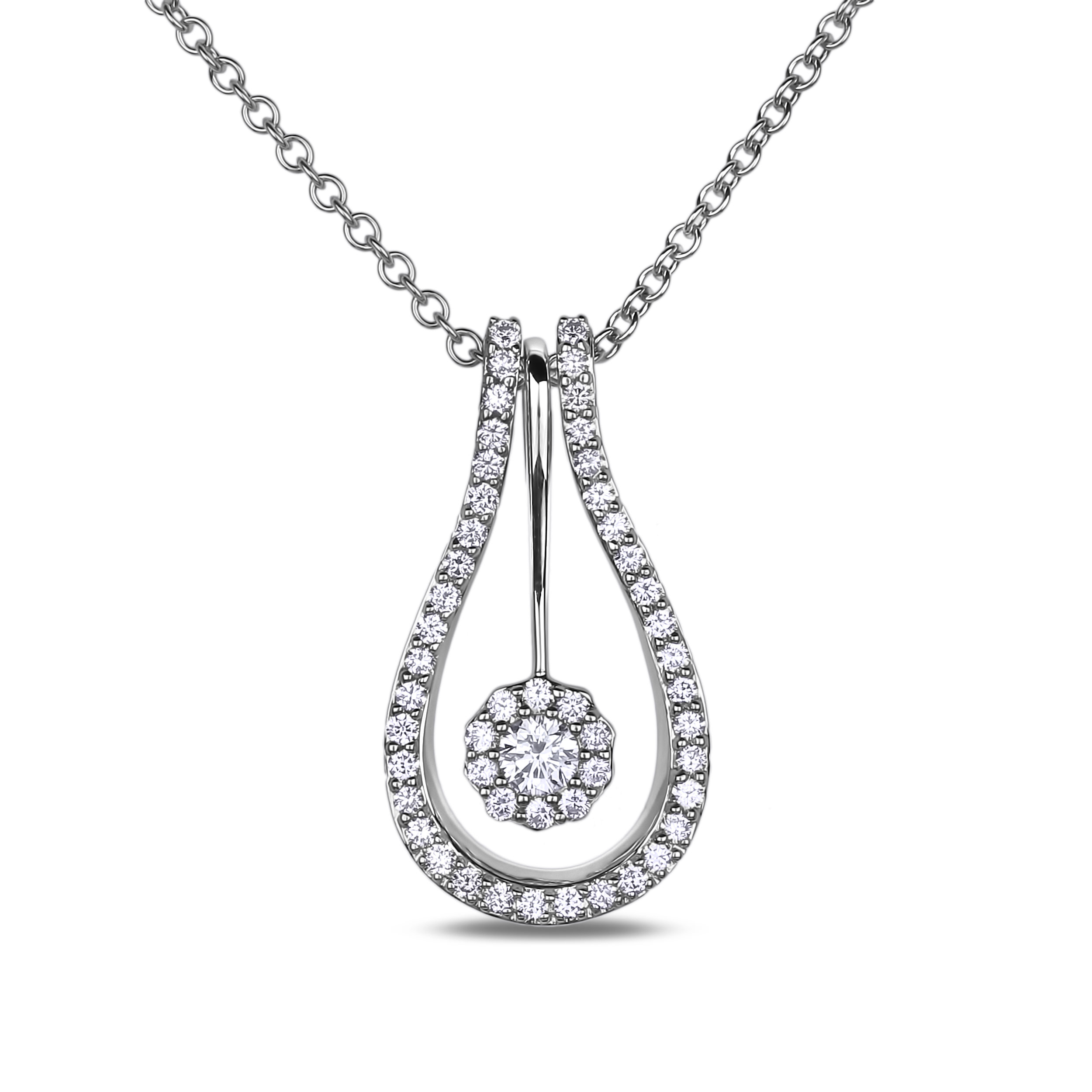Diamond Pendants SGP194-305E (Pendants)