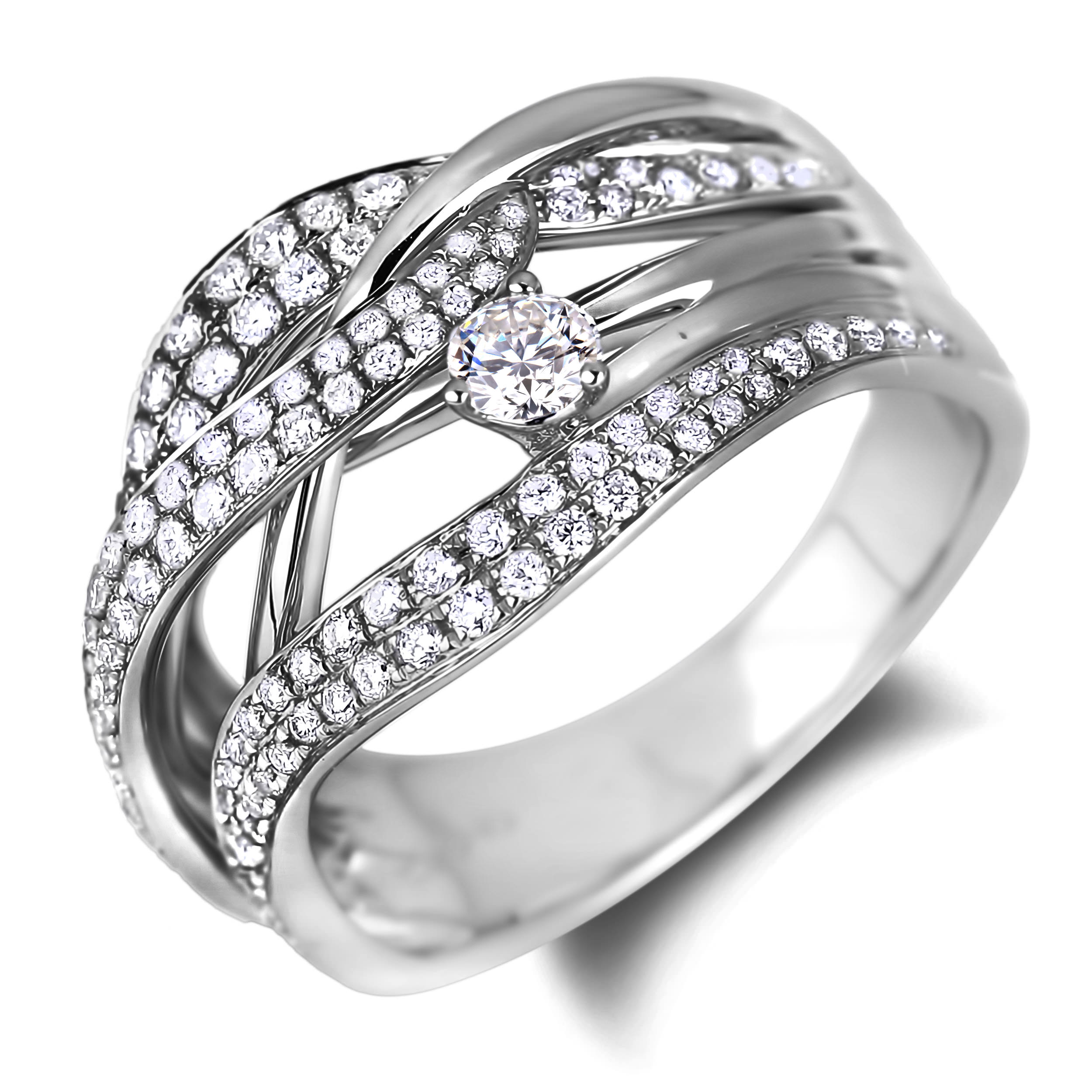 Diamond Anniversary Rings SGR1060 (Rings)