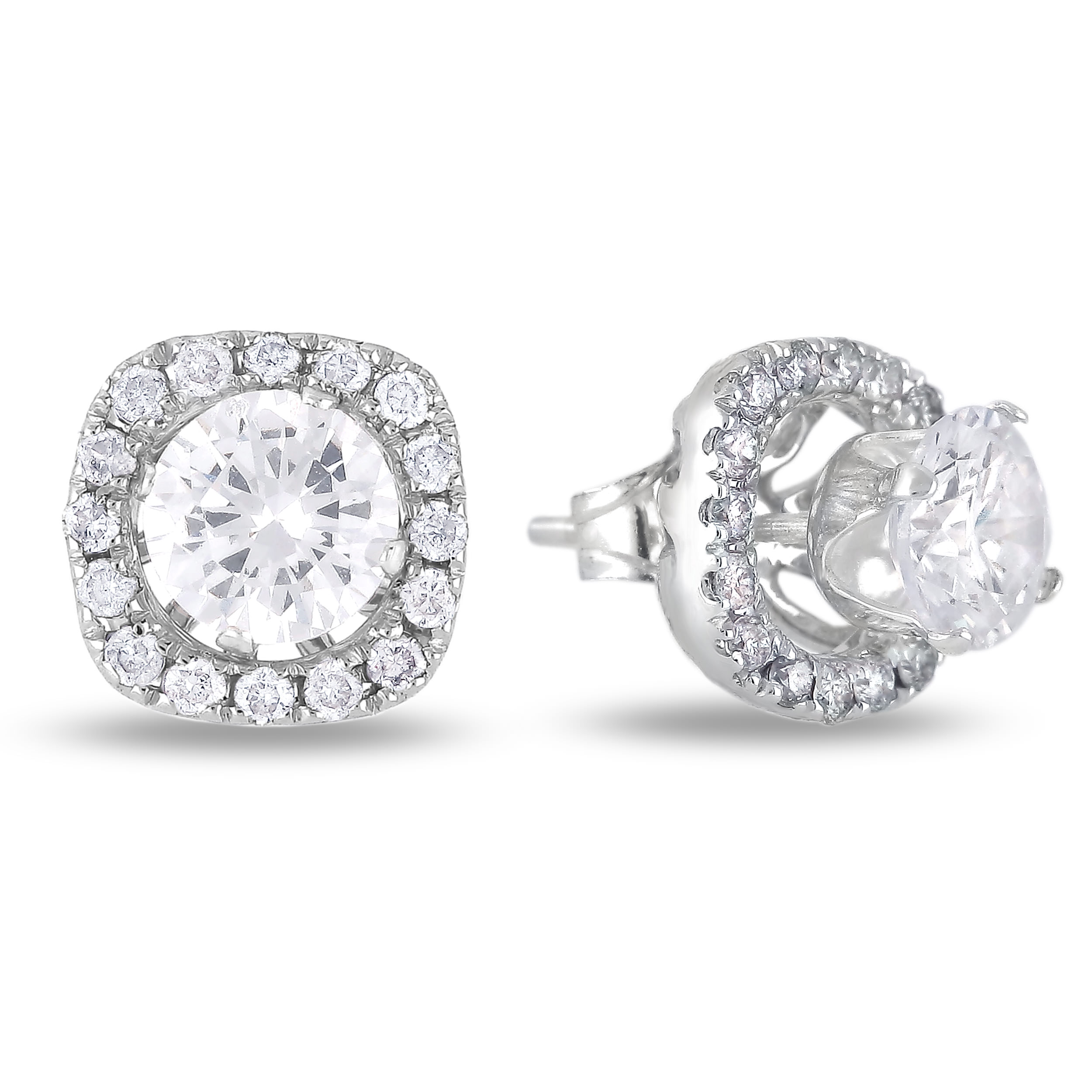 Diamond Stud Earrings SGE277 (Earrings)