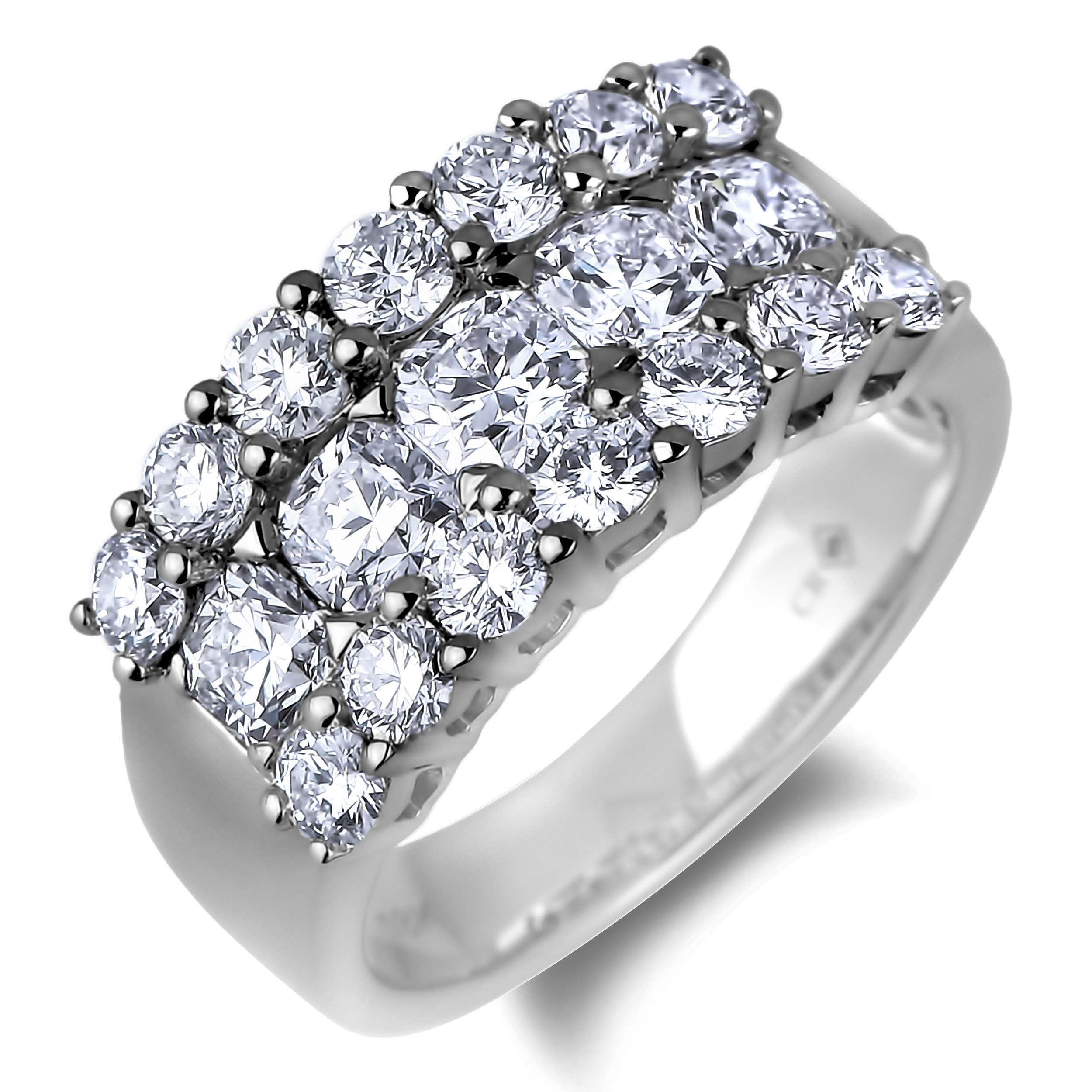 Diamond Anniversary Rings SGR1101 (Rings)