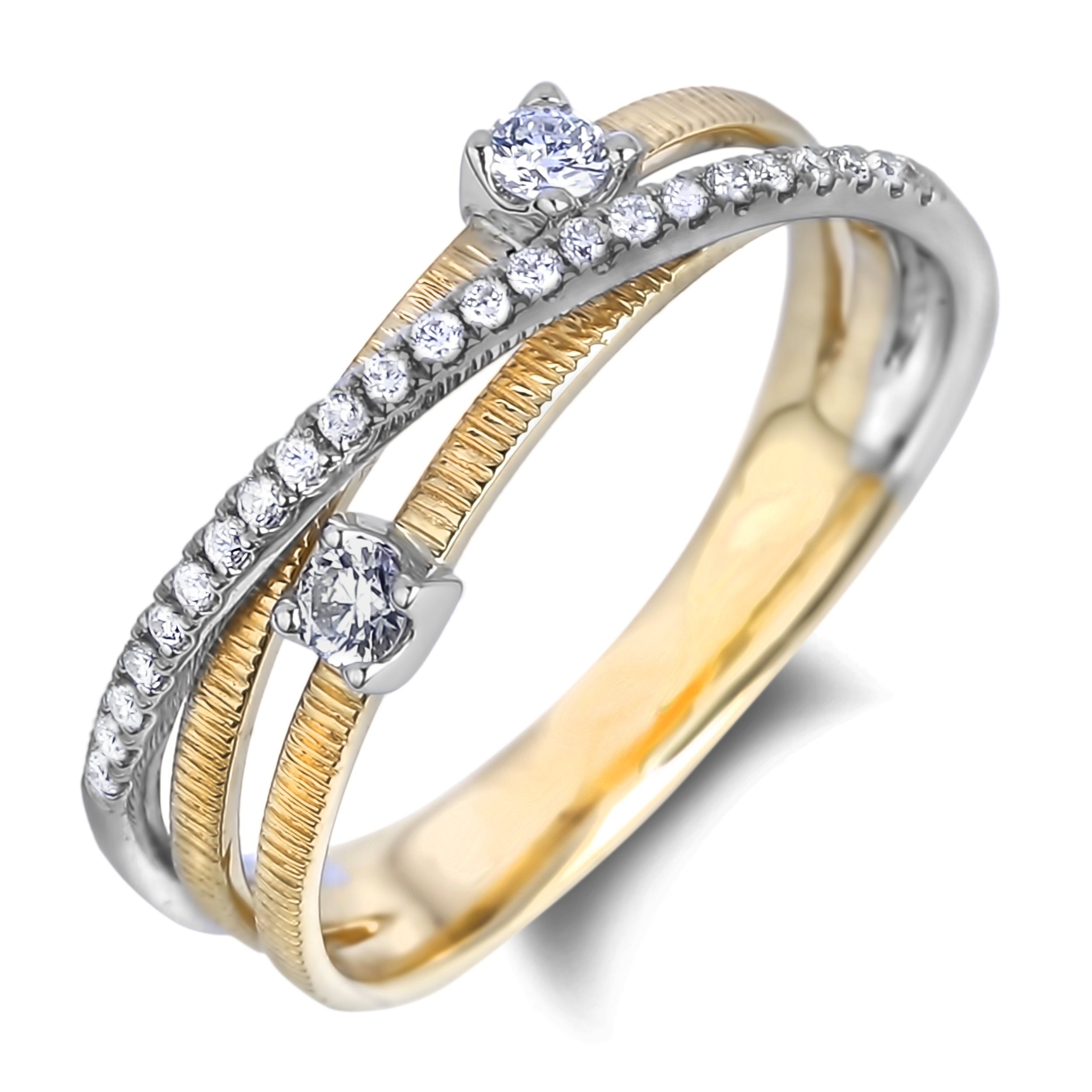 Diamond Anniversary Rings SGR1104 (Rings)