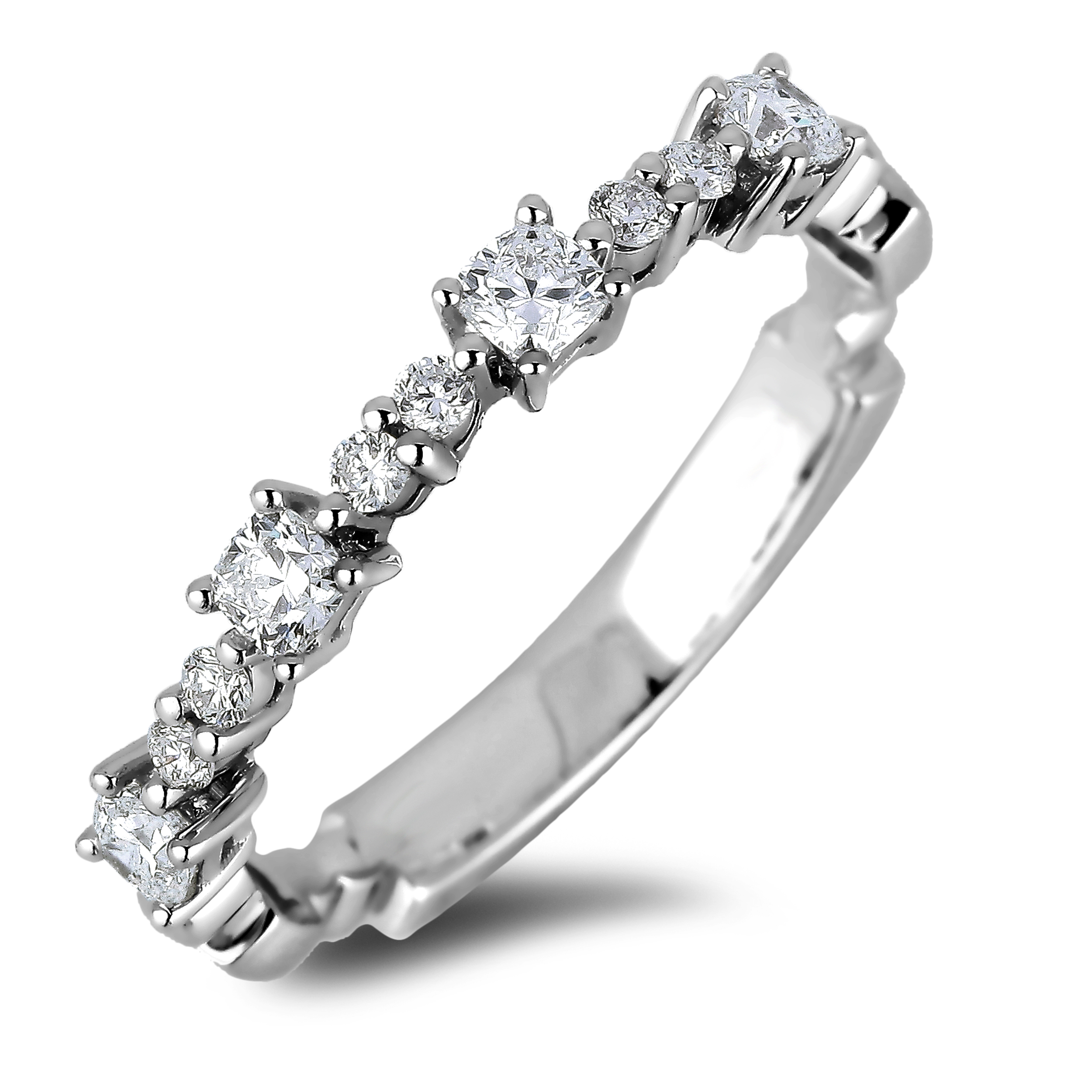 Diamond Anniversary Rings SGR1119 (Rings)
