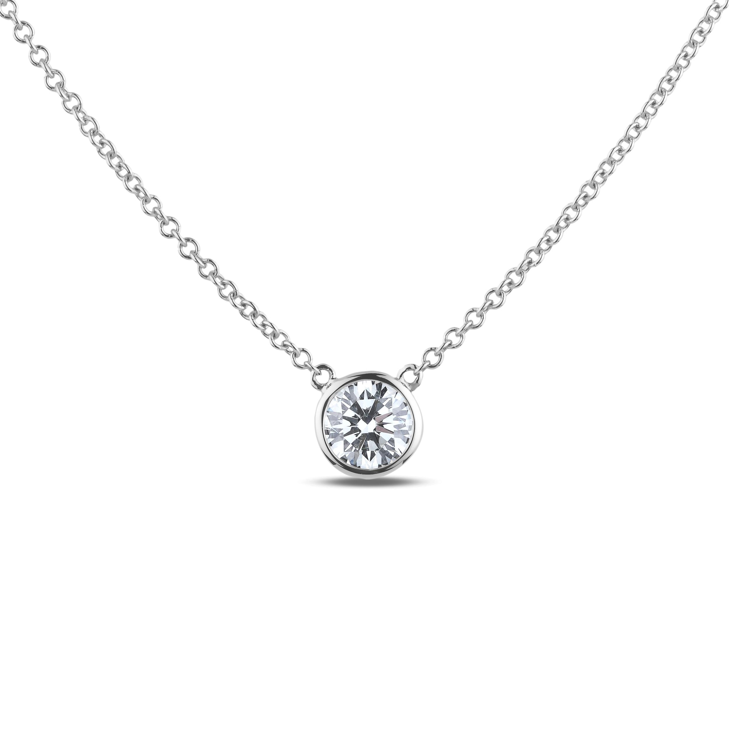 Diamond Solitaire Pendants SGN43 (Pendants)