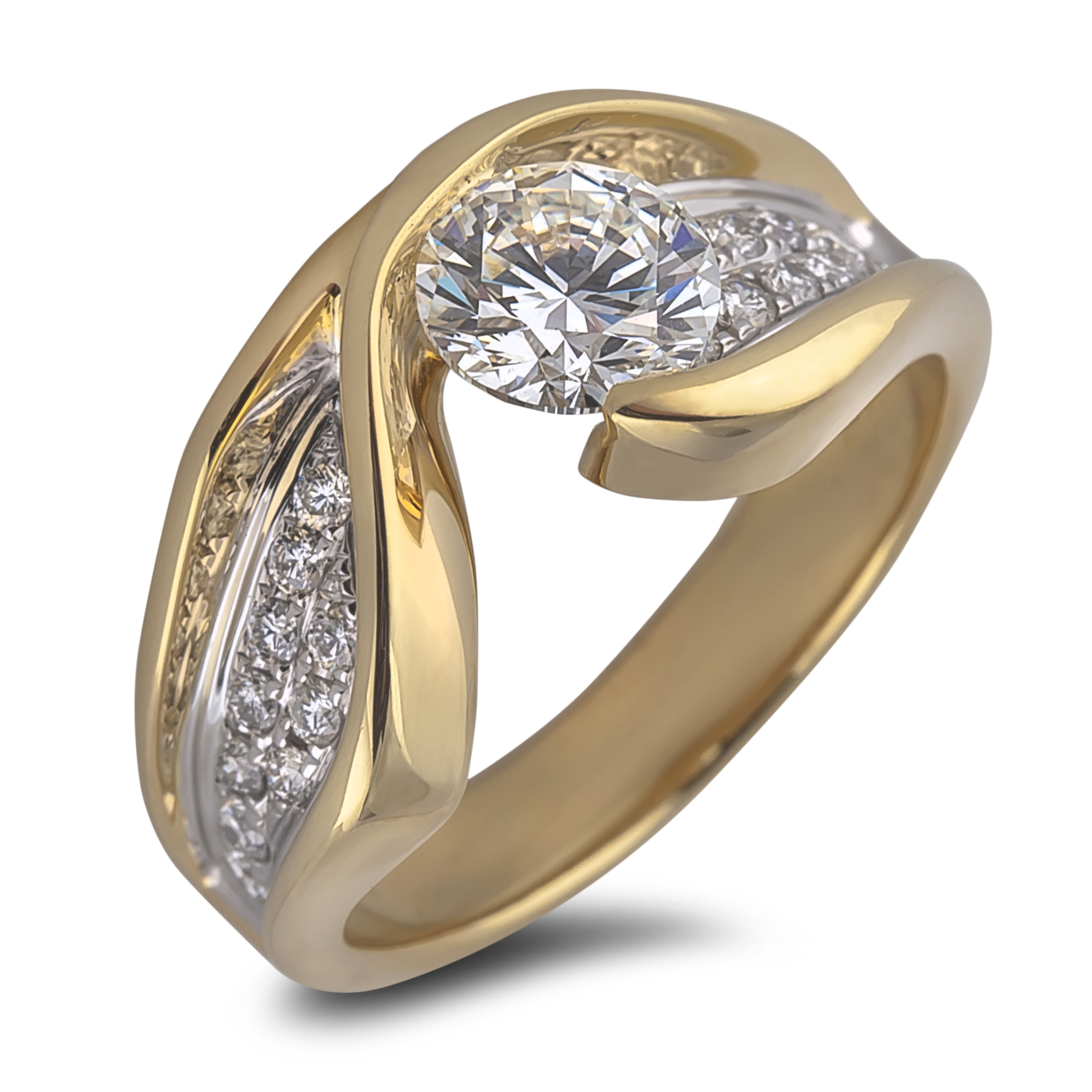Diamond Engagement SEC3250 (Rings)