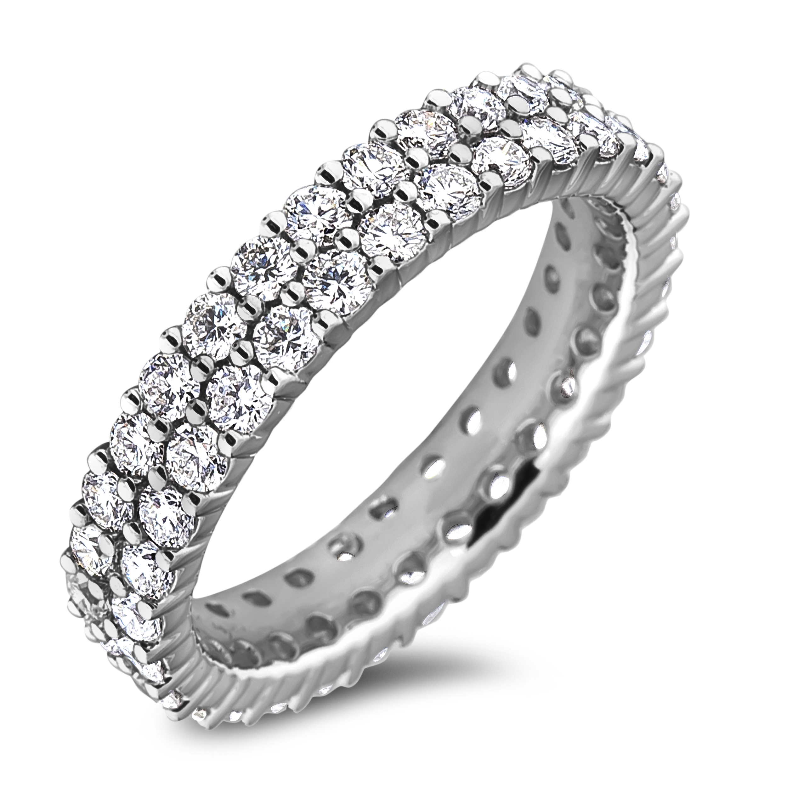 Diamond Anniversary Rings SGR1180 (Rings)