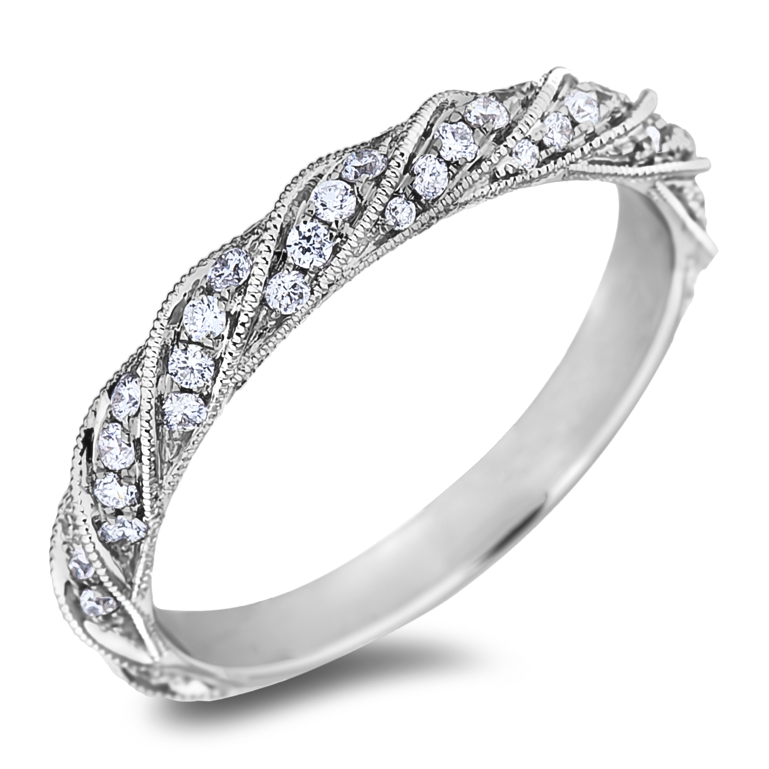 Diamond Wedding Bands SGR1162W (Rings)
