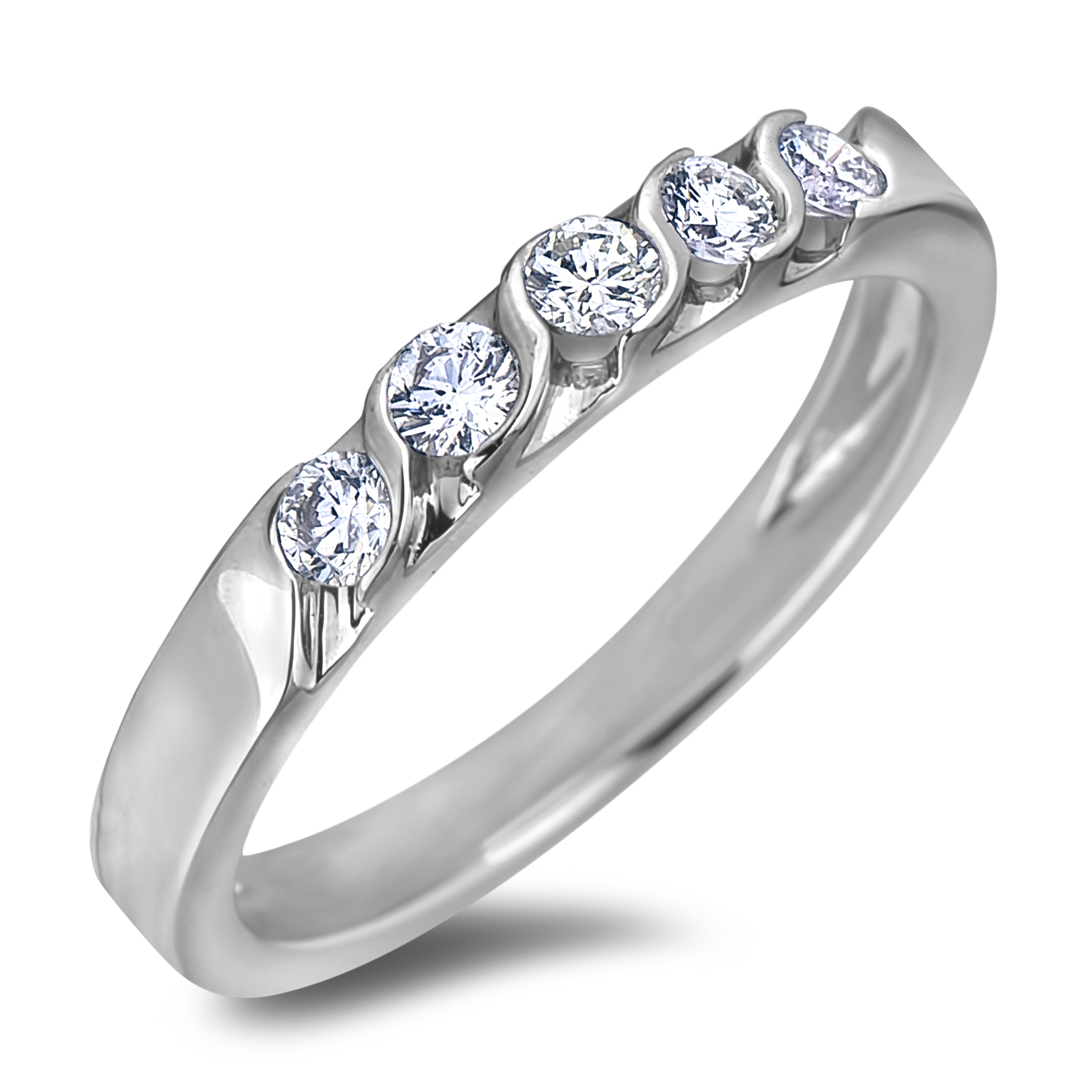 Diamond Wedding Bands SEC2259W (Rings)