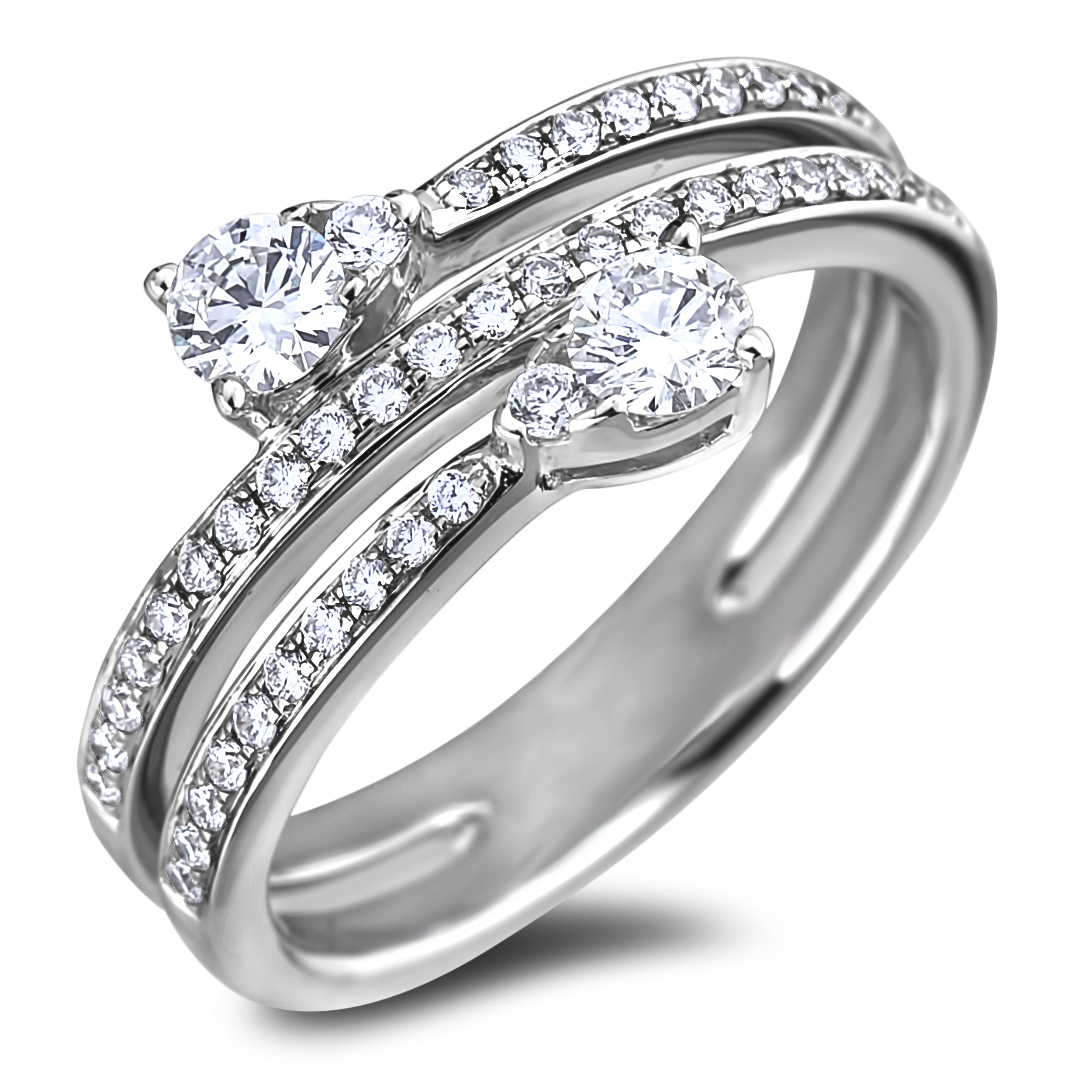 Diamond Anniversary Rings SGR1185 (Rings)