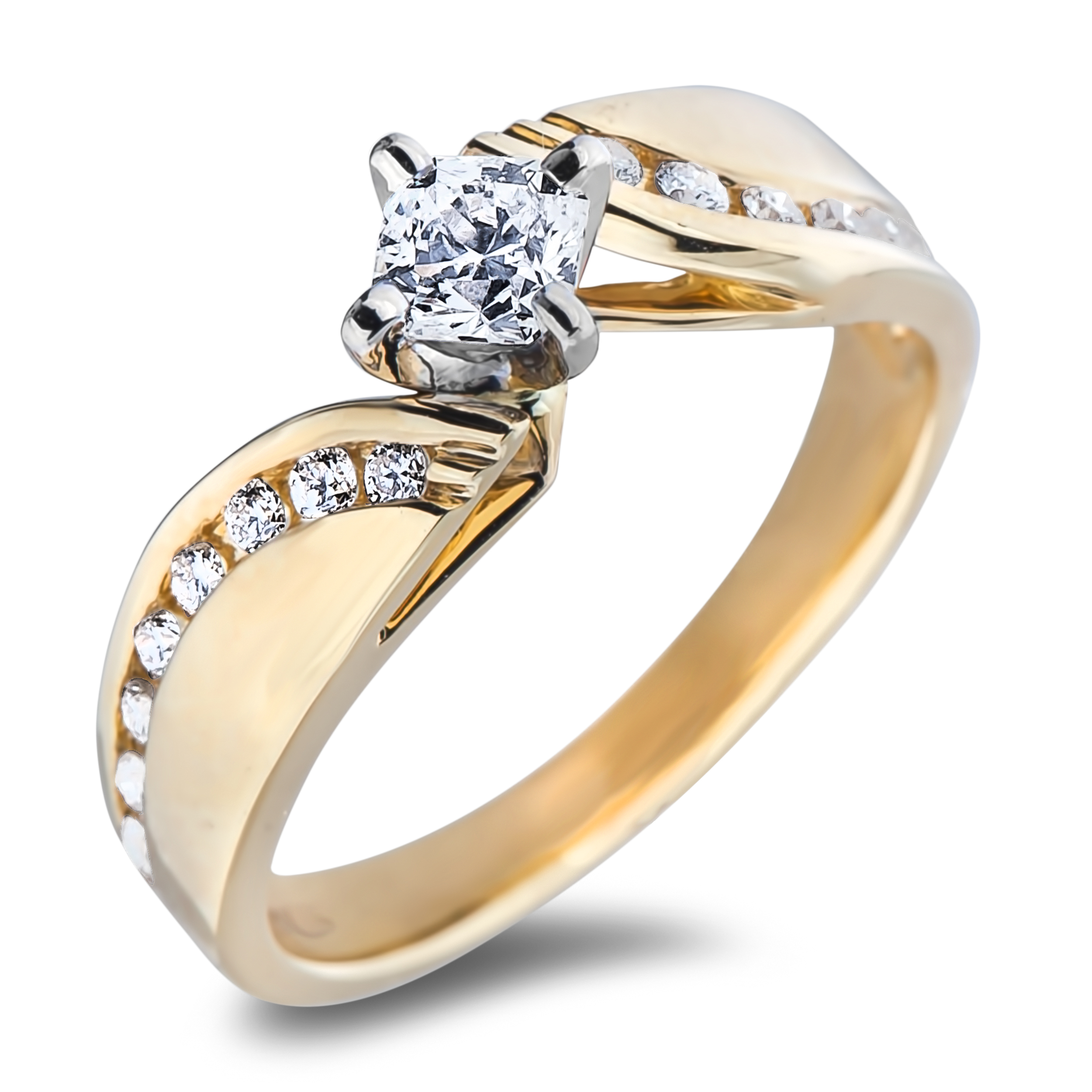 Diamond Engagement SEC2181 (Rings)