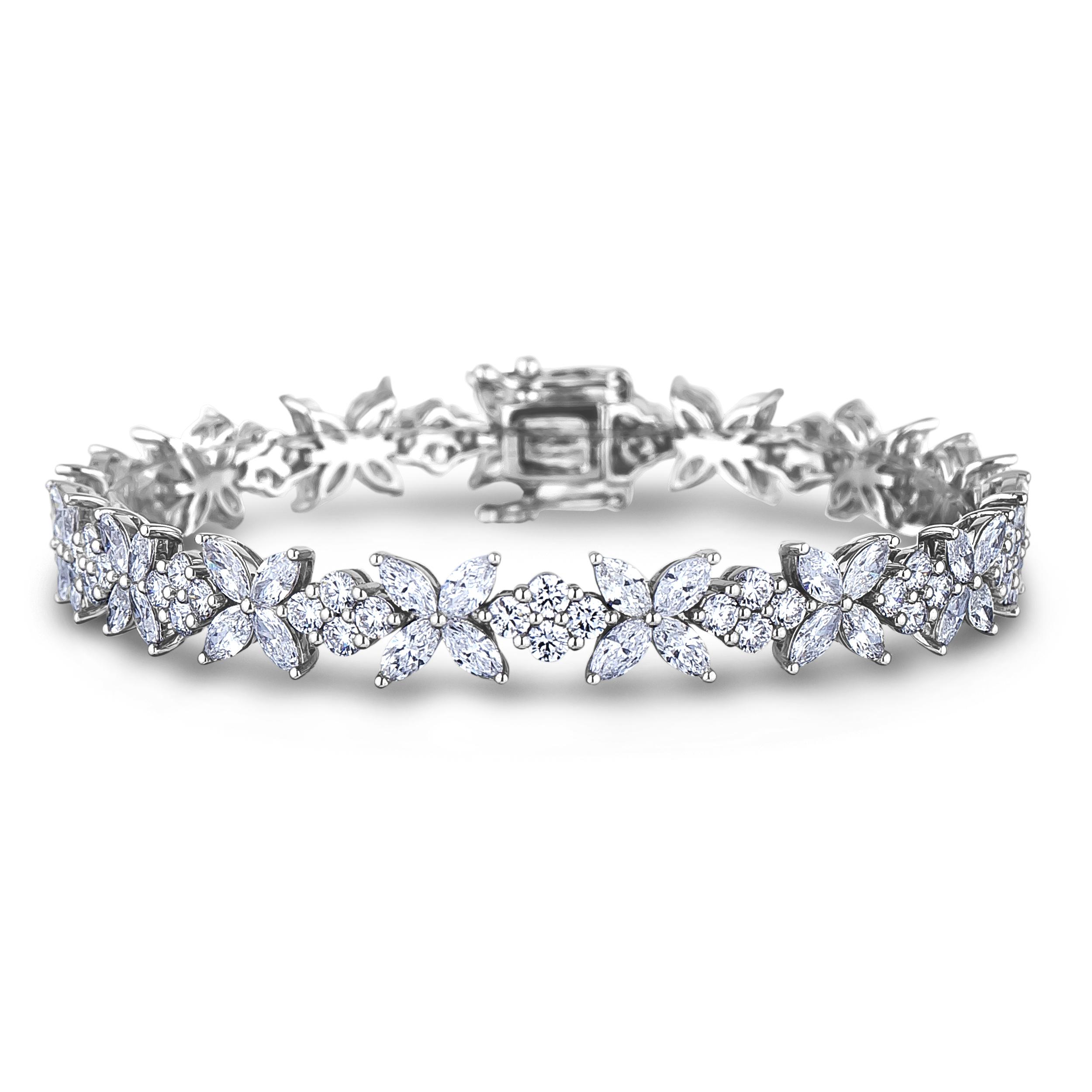 Diamond Tennis Bracelets SGB104 (Bracelets)