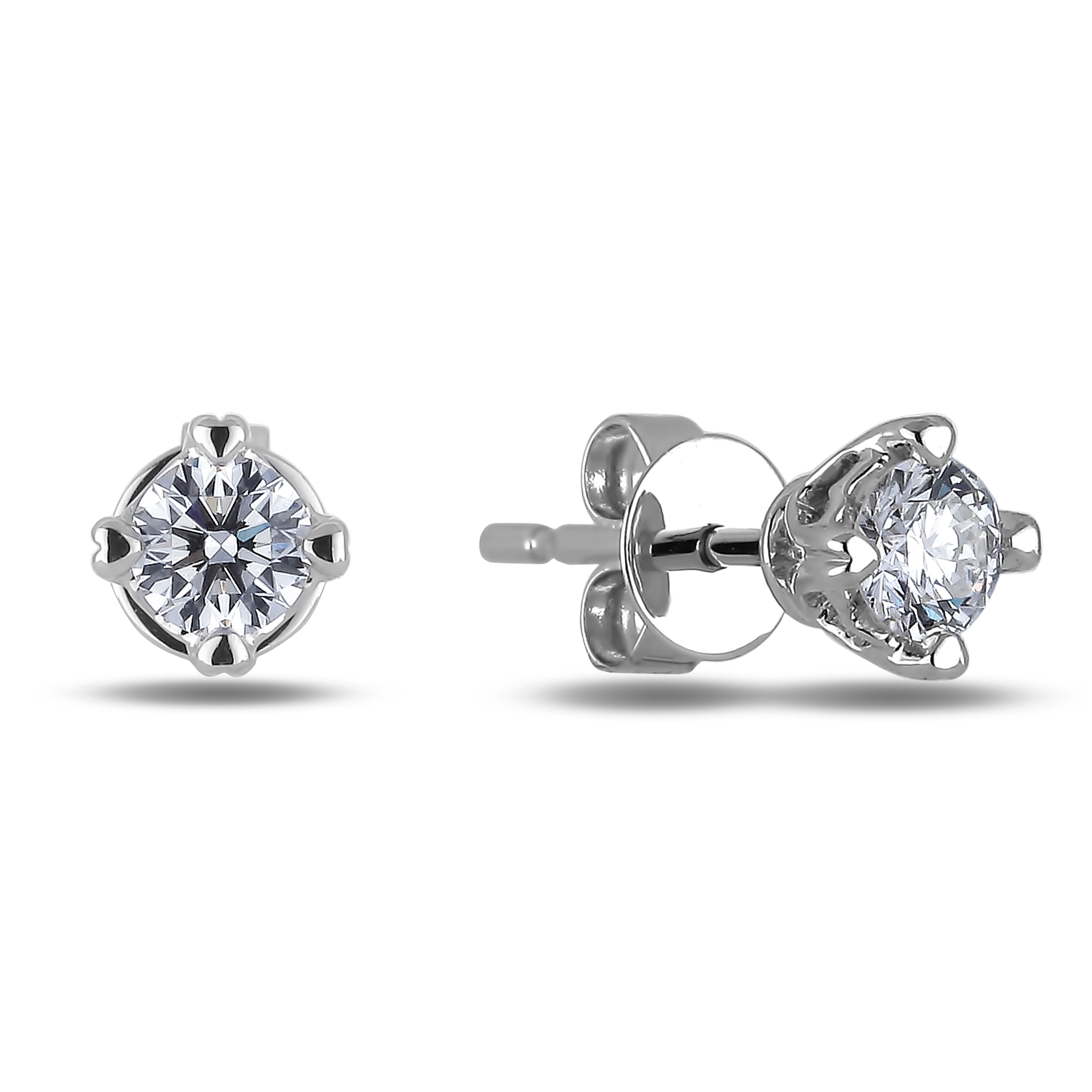 Diamond Stud Earrings SGE280 (Earrings)