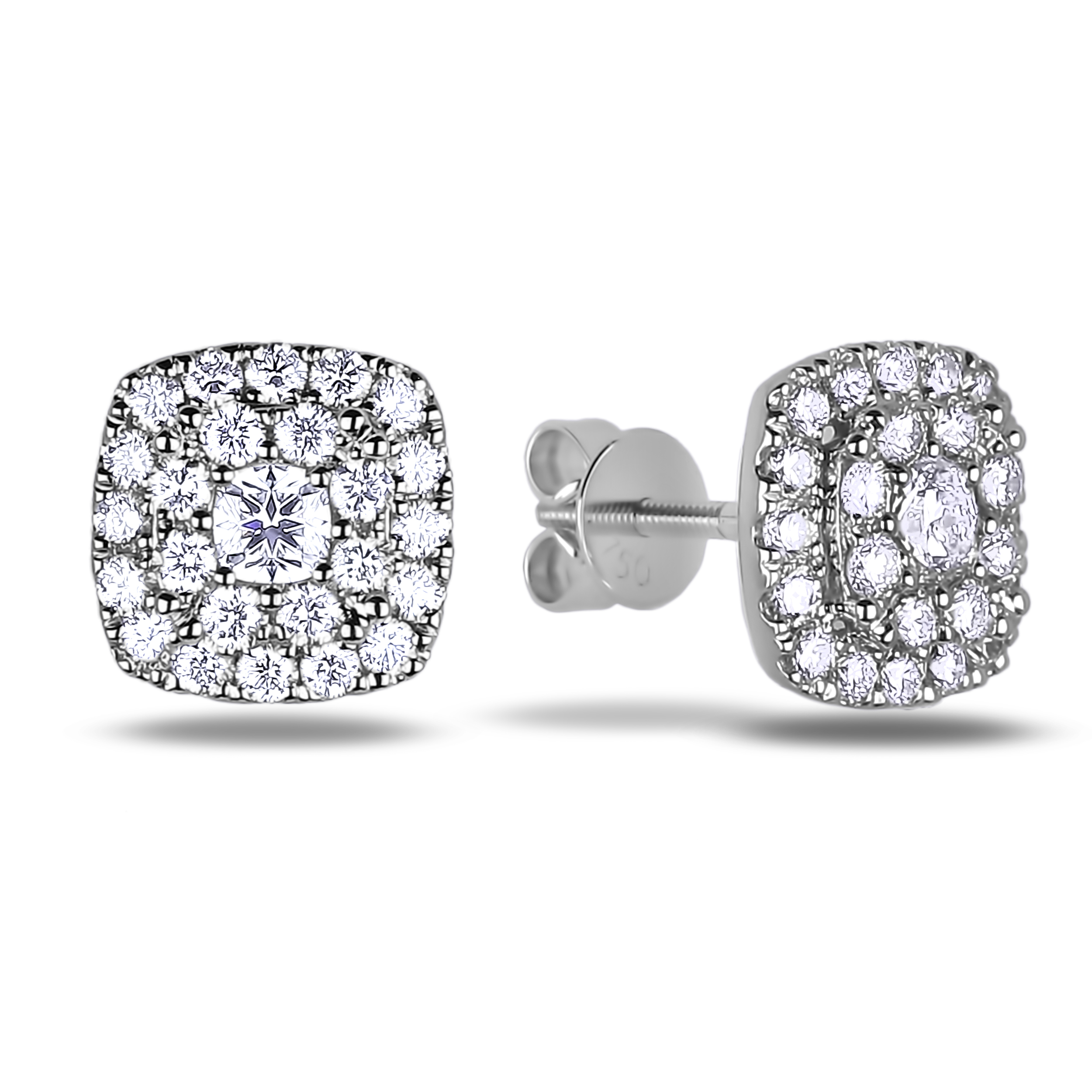 Diamond Stud Earrings SGE306 (Earrings)