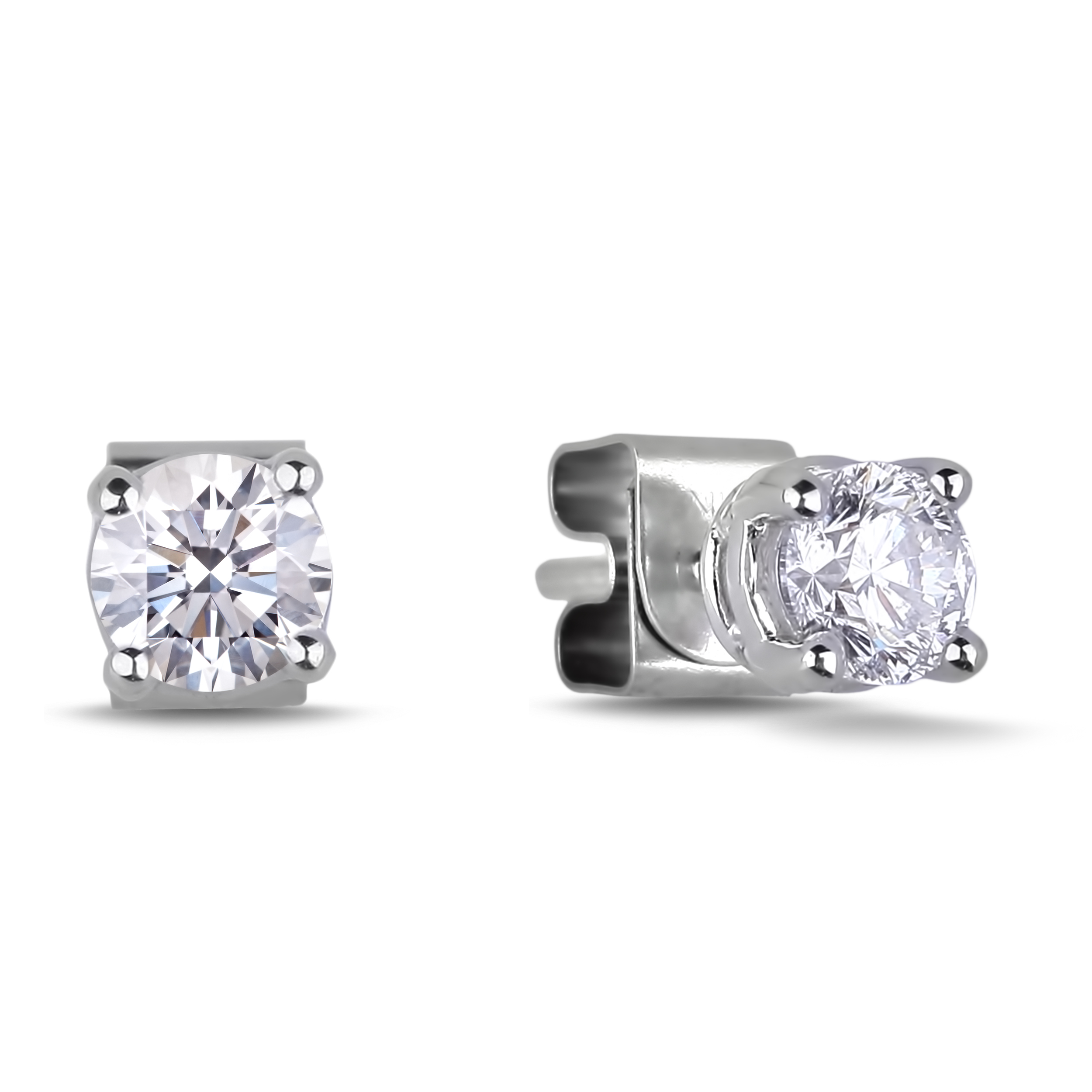 Diamond Stud Earrings SGE313 (Earrings)