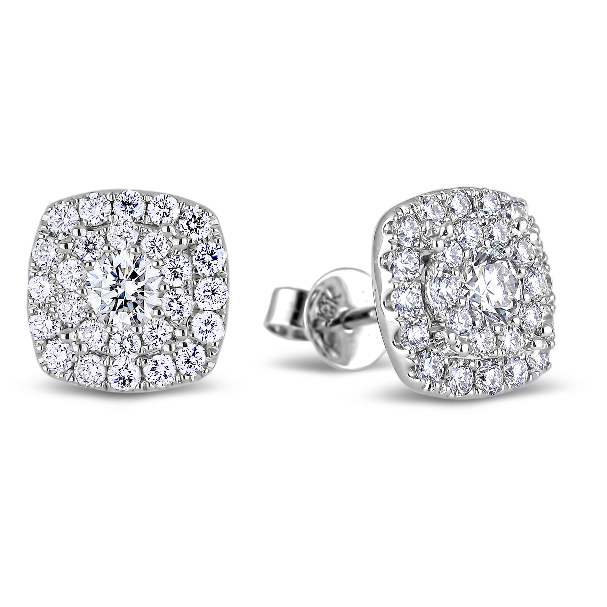 Diamond Stud Earrings SGE283 (Earrings)