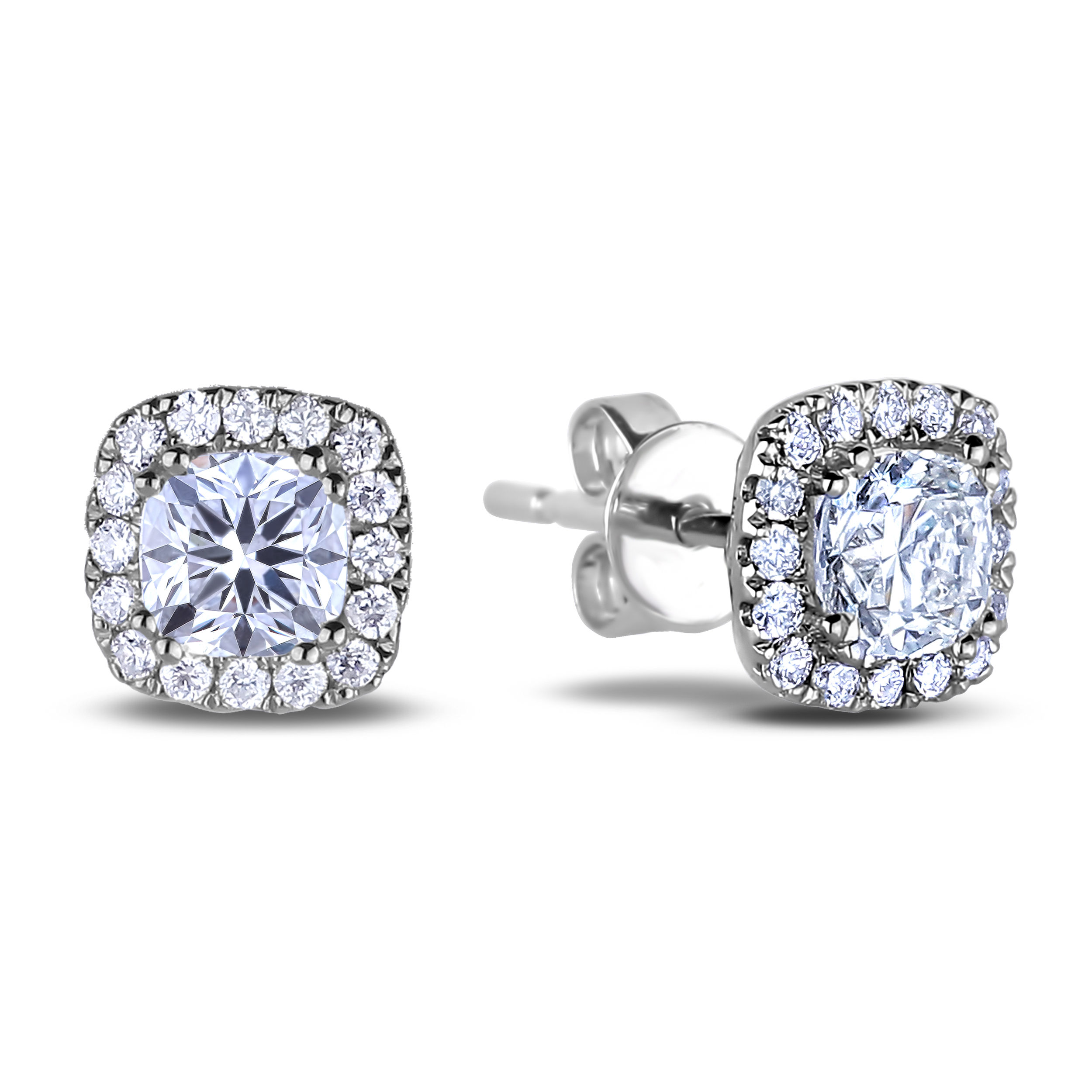 Diamond Stud Earrings SGE319 (Earrings)