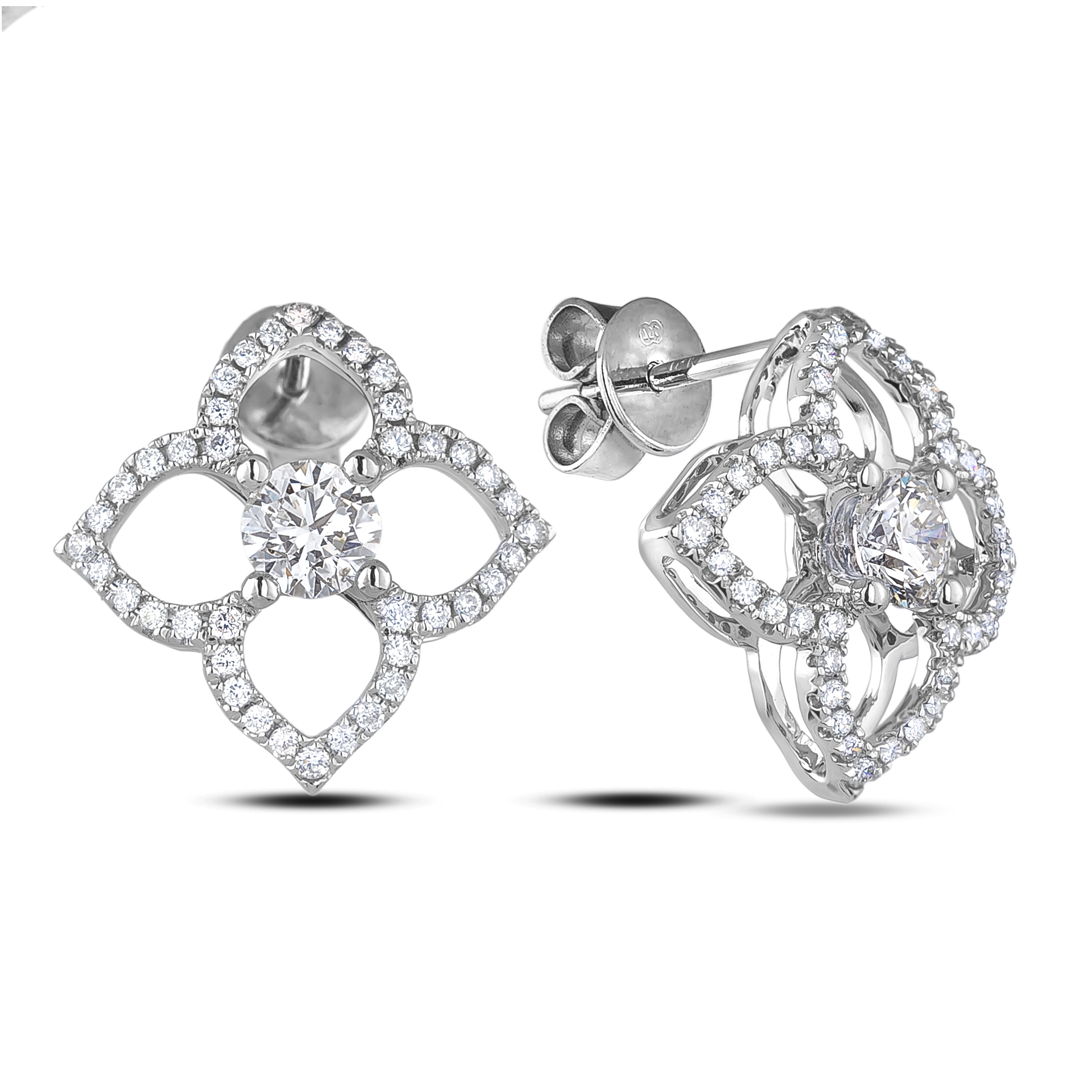 Diamond Stud Earrings SGE332 (Earrings)