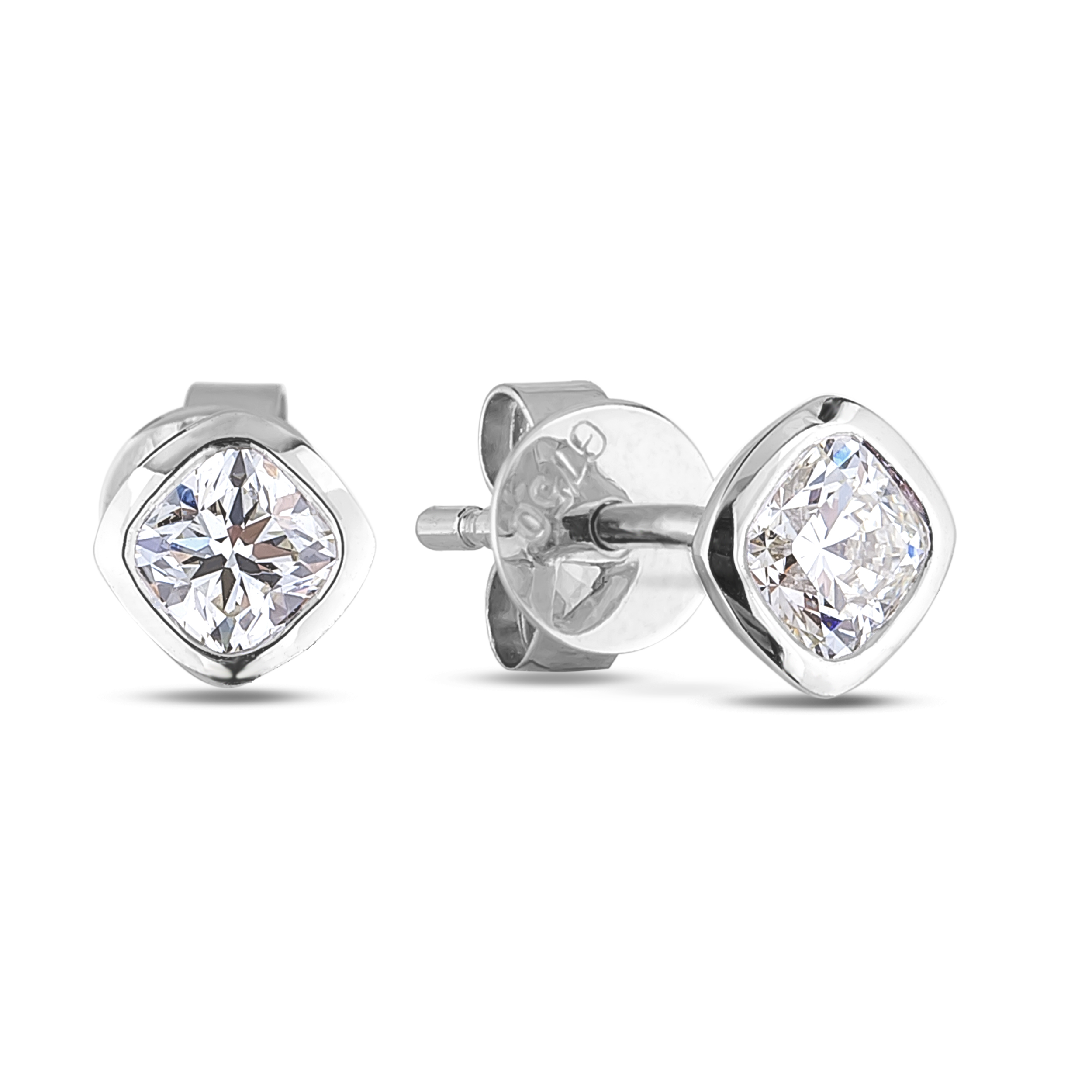 Diamond Stud Earrings SGE328 (Earrings)