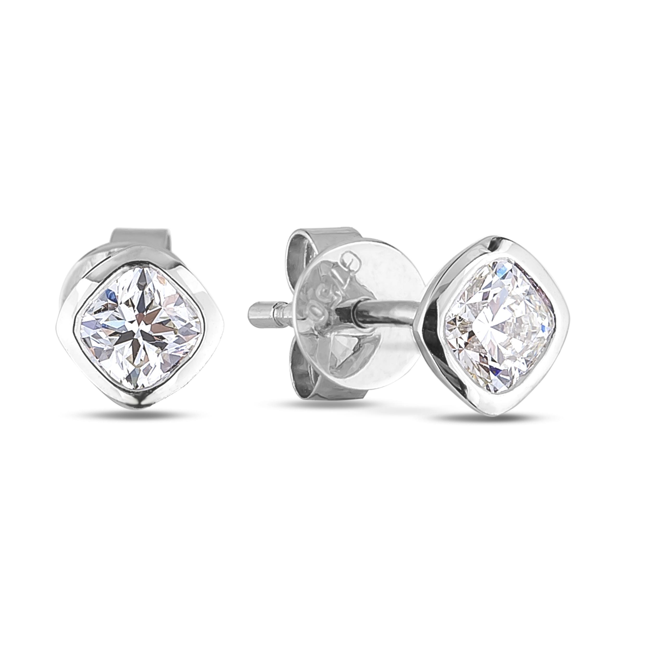 Diamond Stud Earrings SGE328 (Earrings)