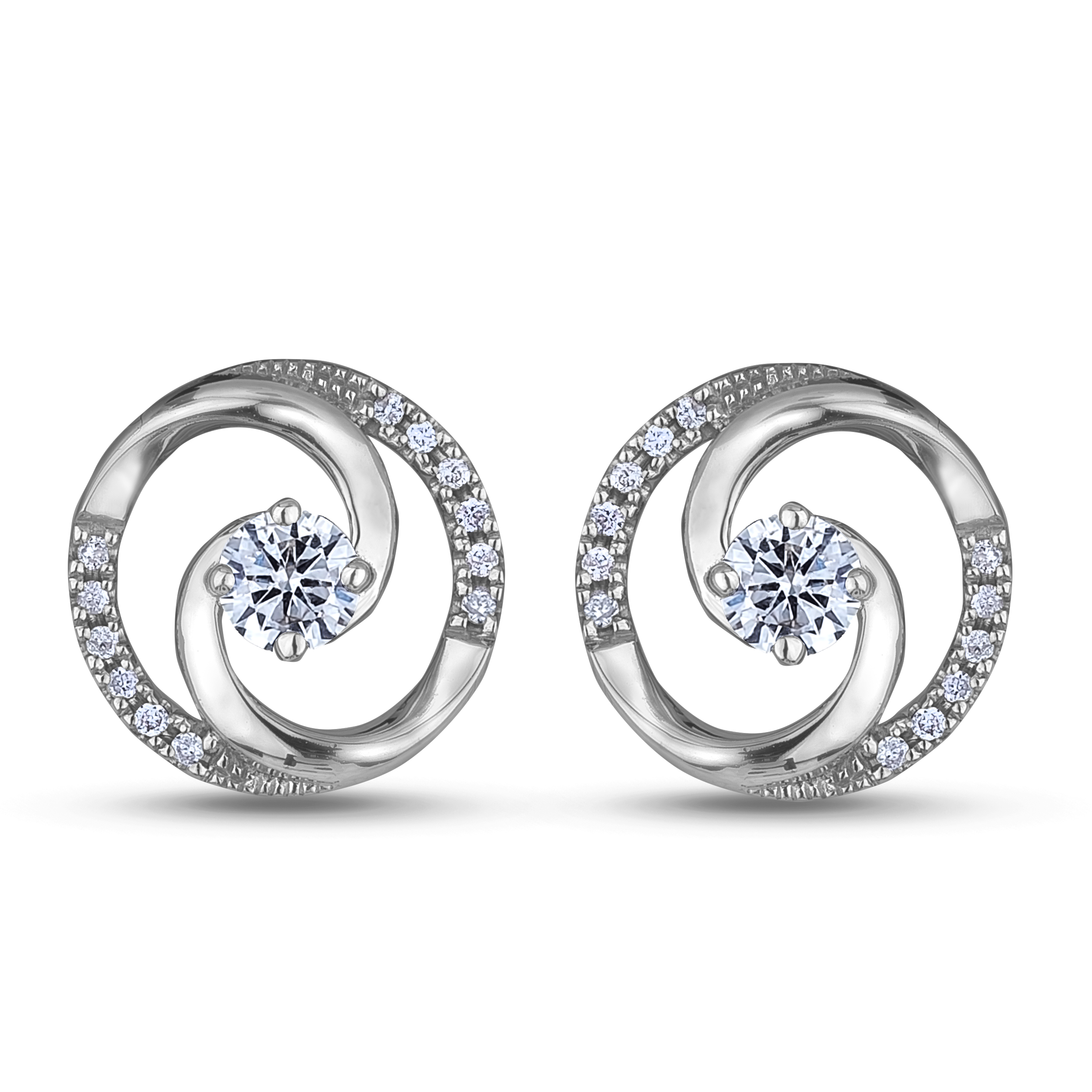 Diamond Stud Earrings SGE345 (Earrings)