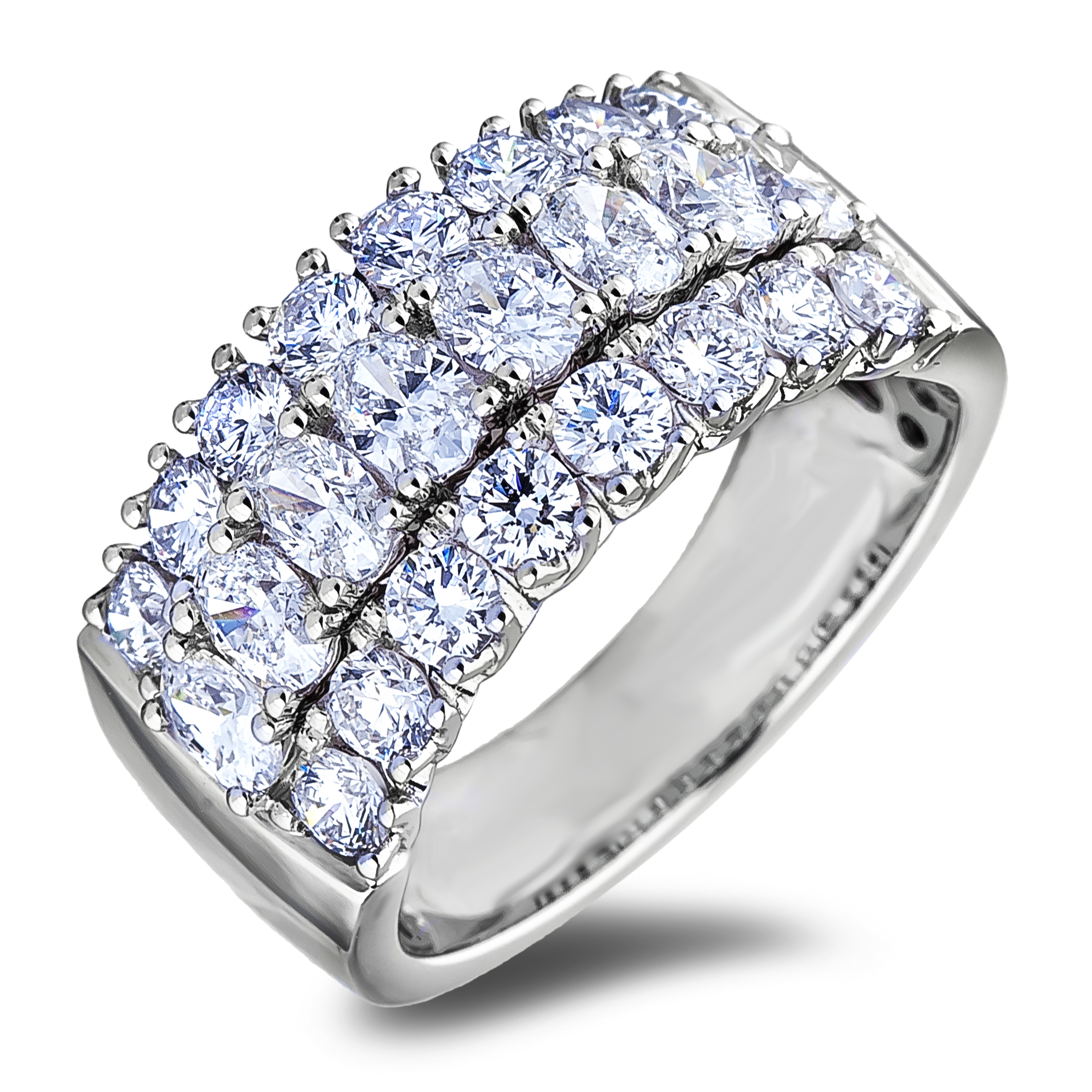 Diamond Anniversary Rings SGR1205 (Rings)
