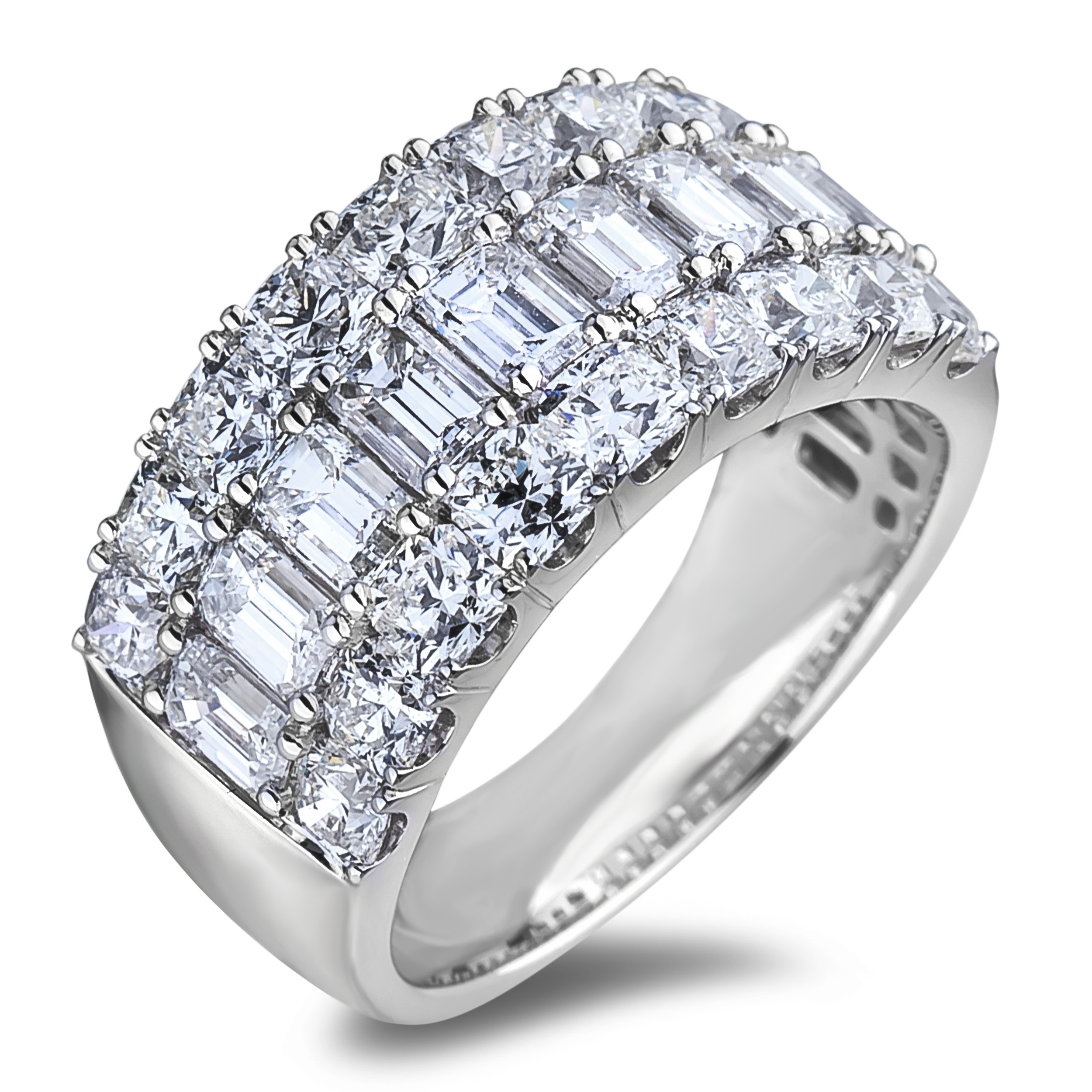 Diamond Anniversary Rings SGR1194 (Rings)