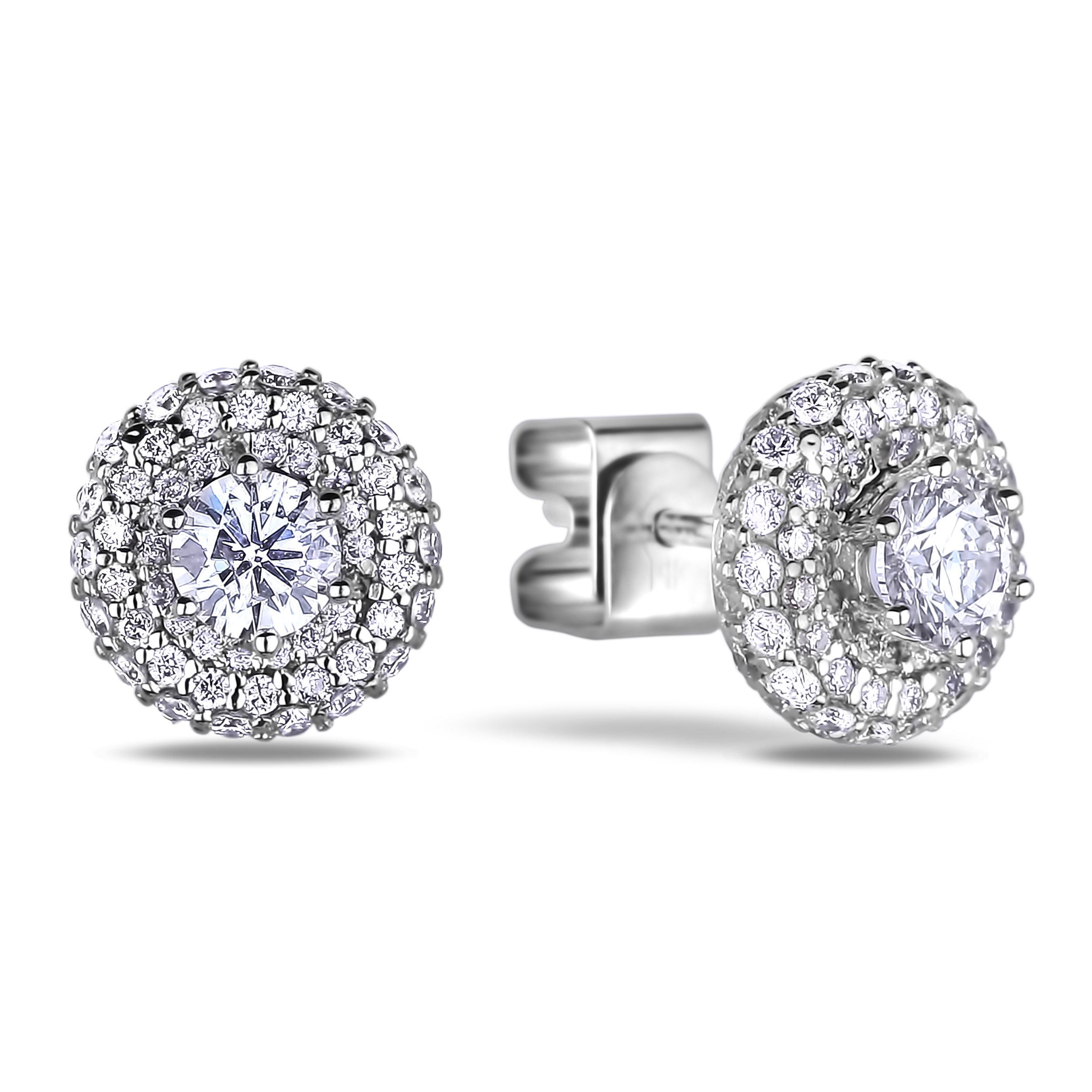 Diamond Stud Earrings SGE316 (Earrings)
