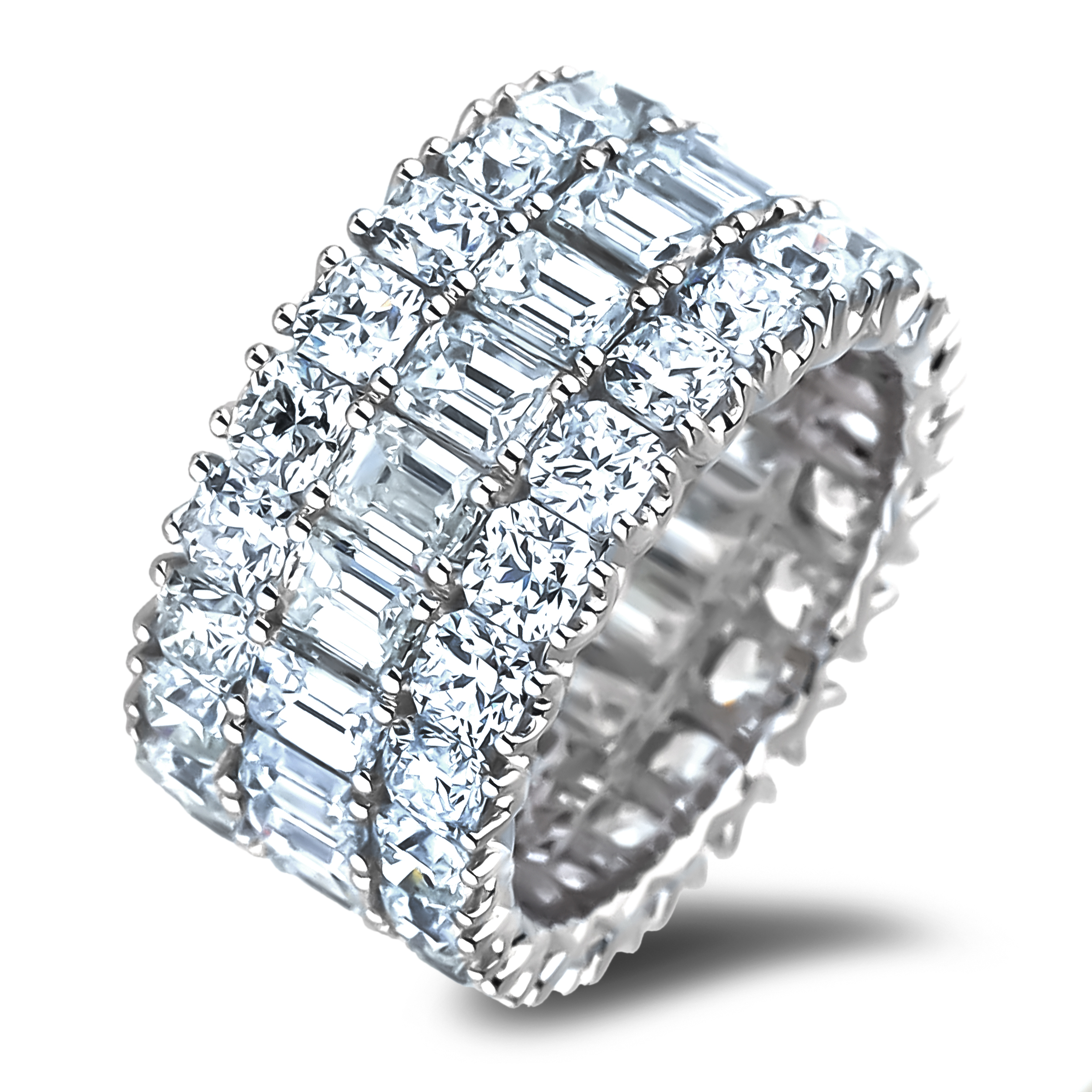 Diamond Anniversary Rings SGR1199 (Rings)