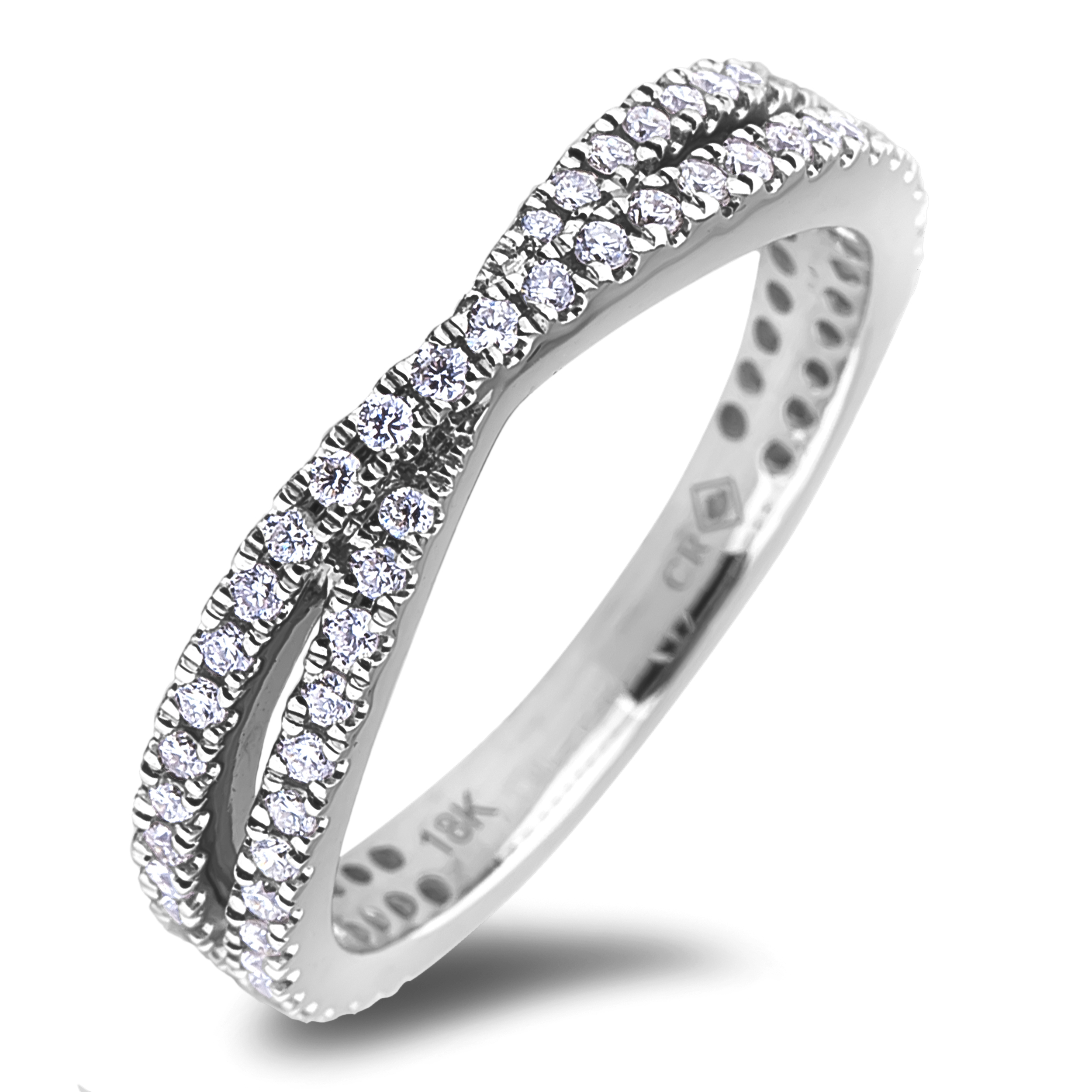 Diamond Anniversary Rings SGR1220 (Rings)