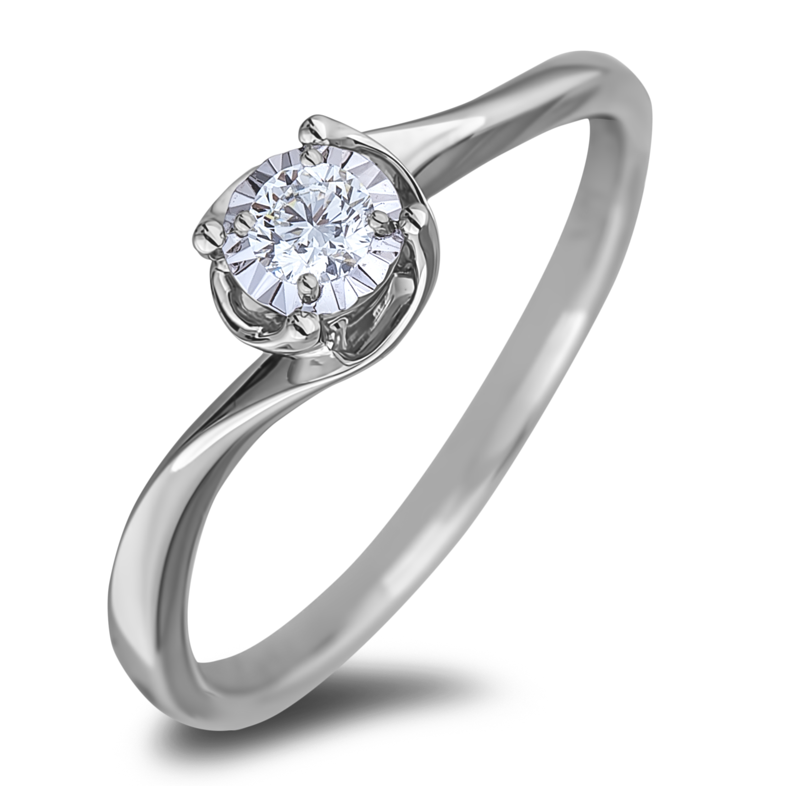 Diamond Solitaire Rings AFCR1022010 (Rings)