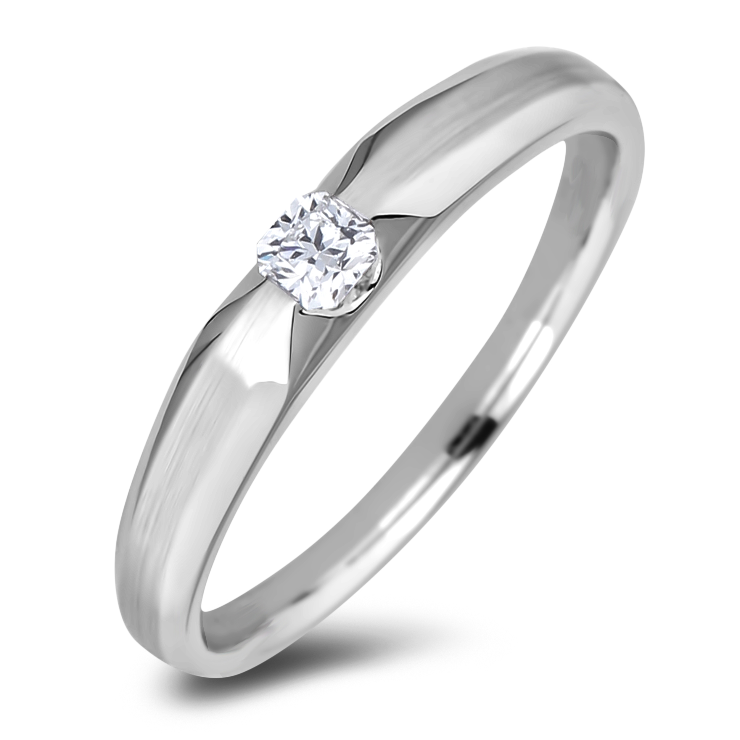 Diamond Solitaire Rings AFR2109L (Rings)