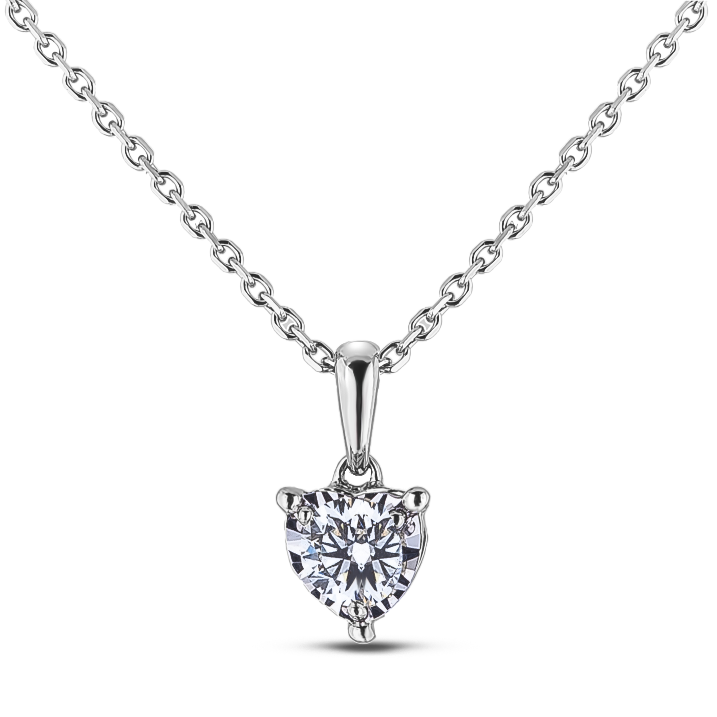 Diamond Solitaire Pendants AFCP1628020 (Pendants)