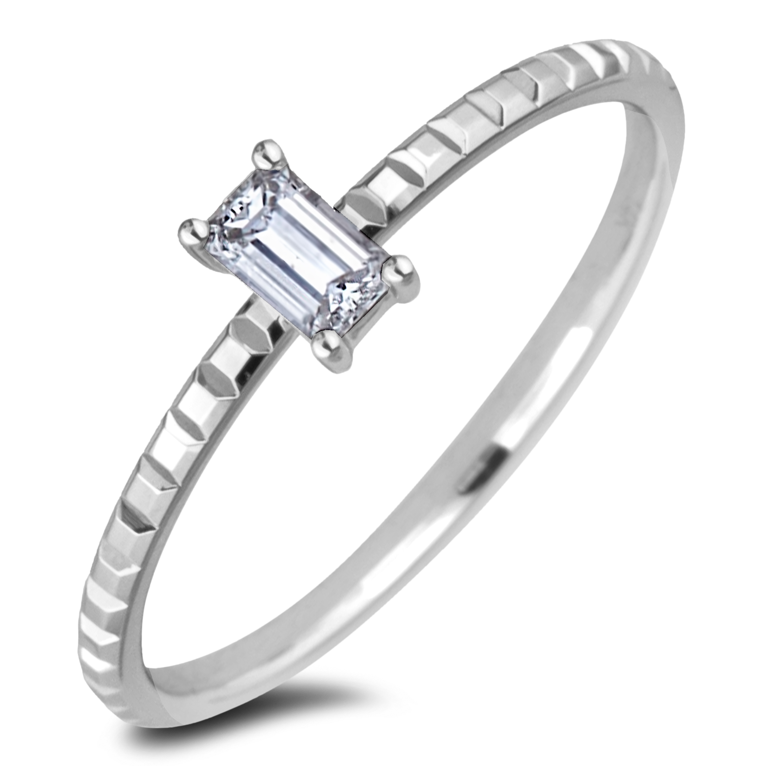 Diamond Solitaire Rings AFDR1013L213-F162 (Rings)