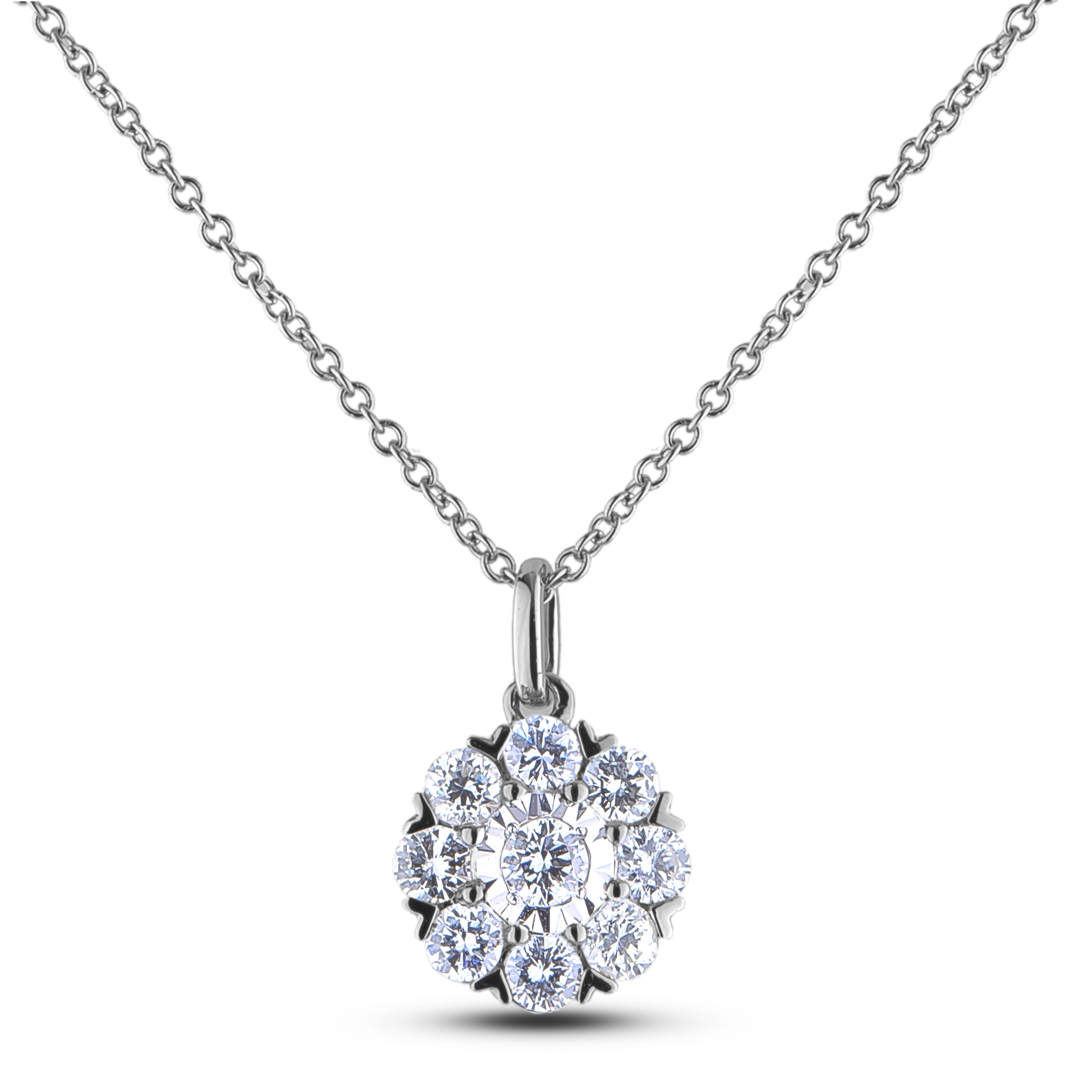 Diamond Pendants JS-AFCP0915008 (Pendants)