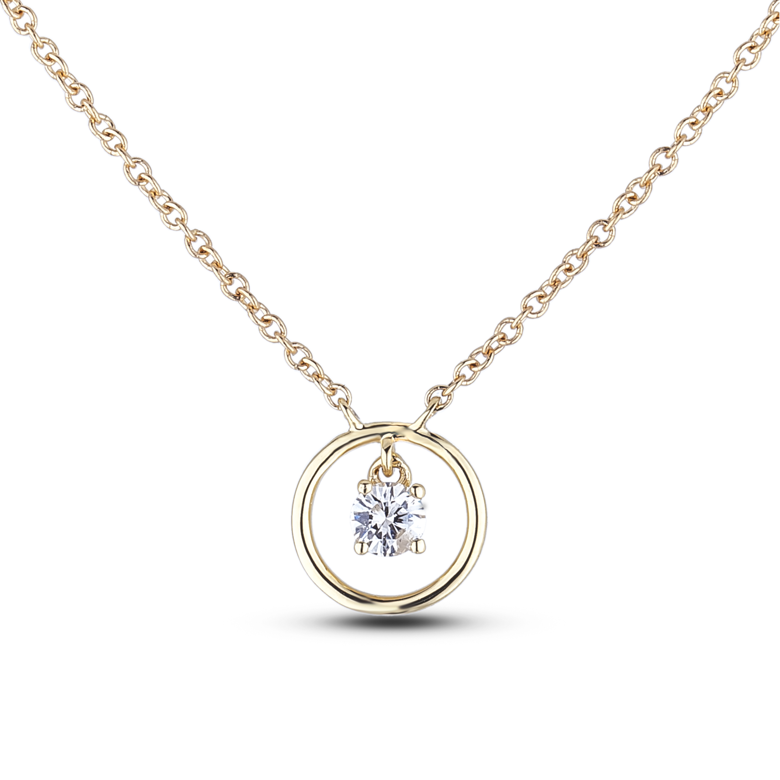 Diamond Solitaire Pendants SJL-MX-ND2682-10 (Pendants)