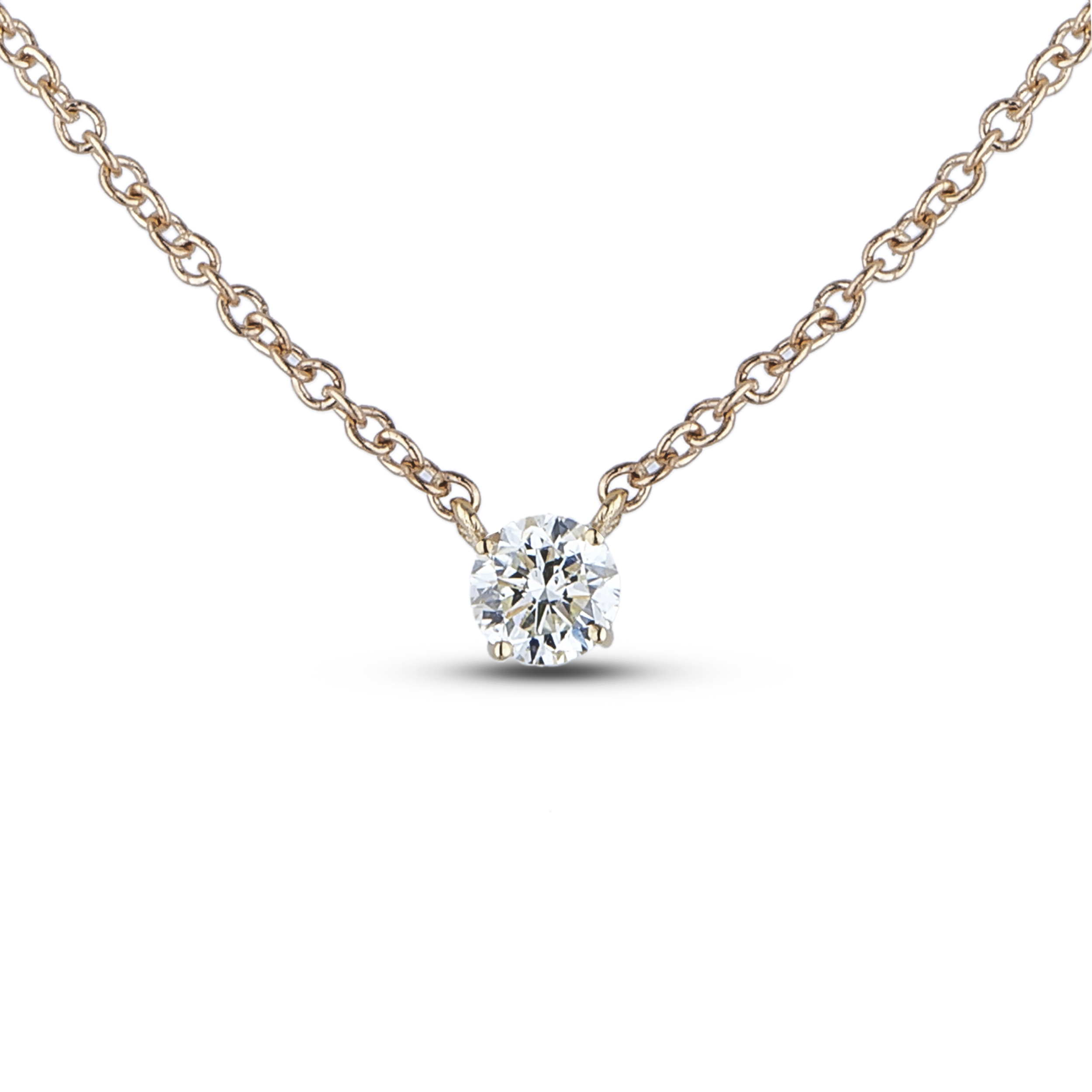 Diamond Solitaire Pendants SGP375 (Pendants)