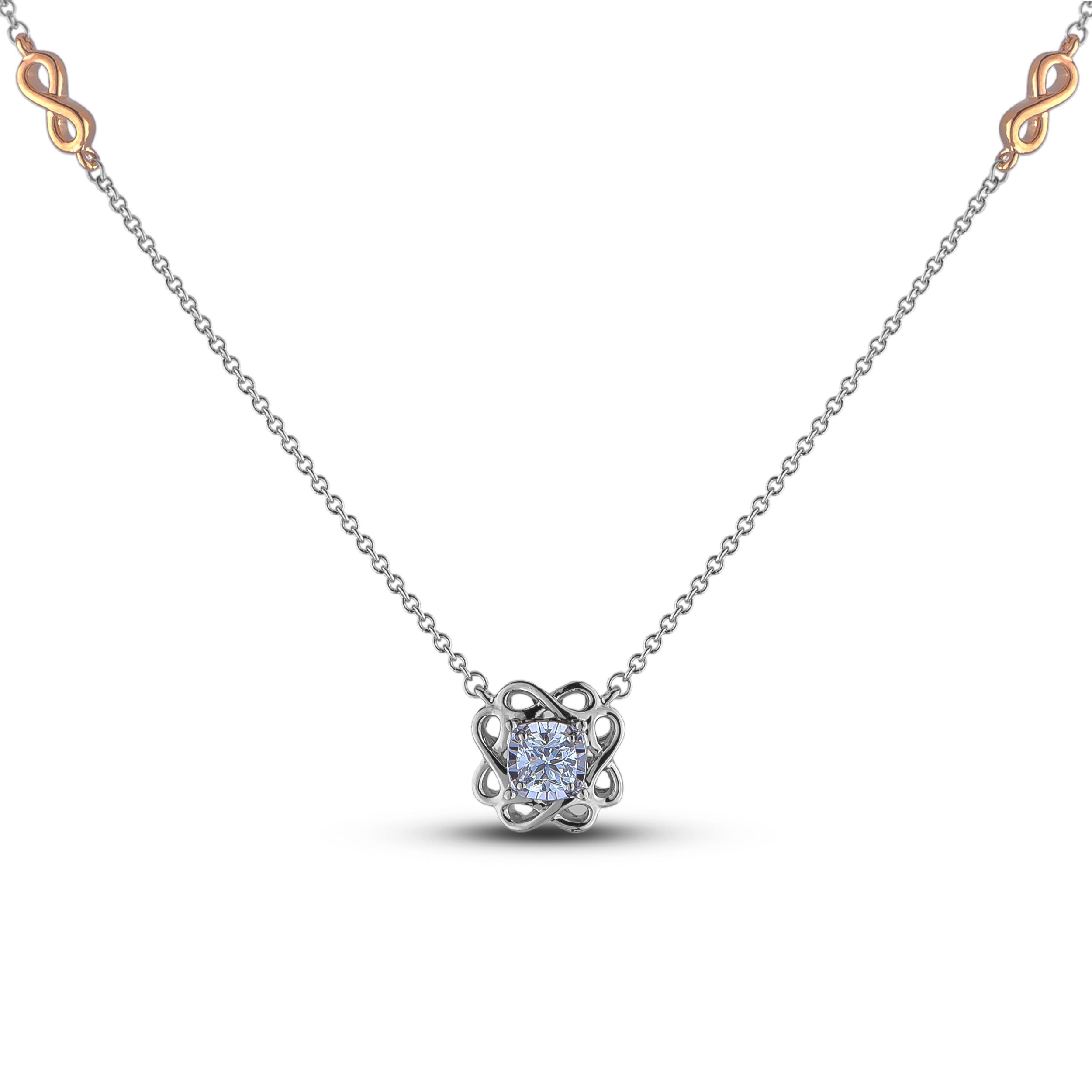Diamond Solitaire Pendants CRL-SGP354 (Pendants)
