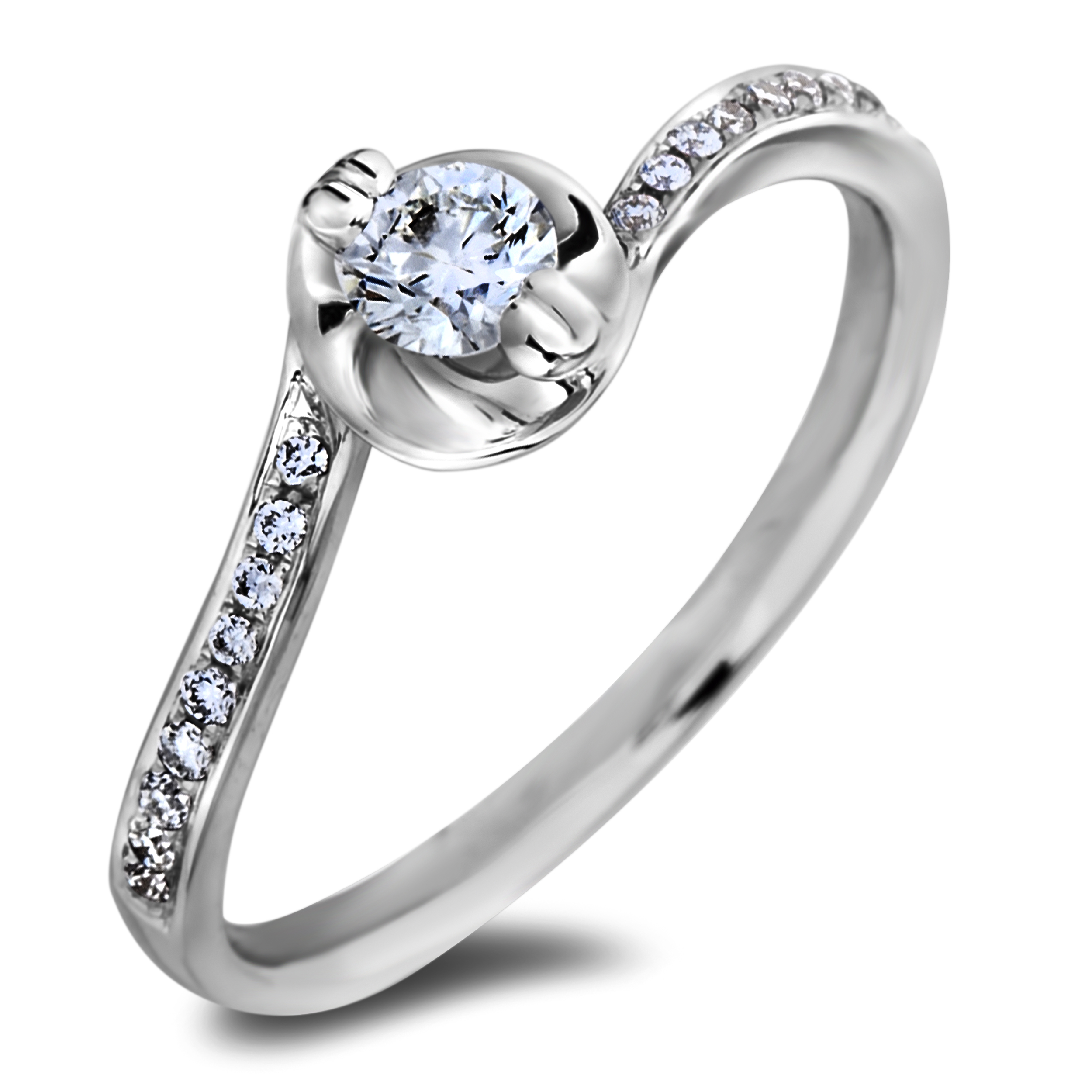 Diamond Engagement JSL-AFR0008 (Rings)