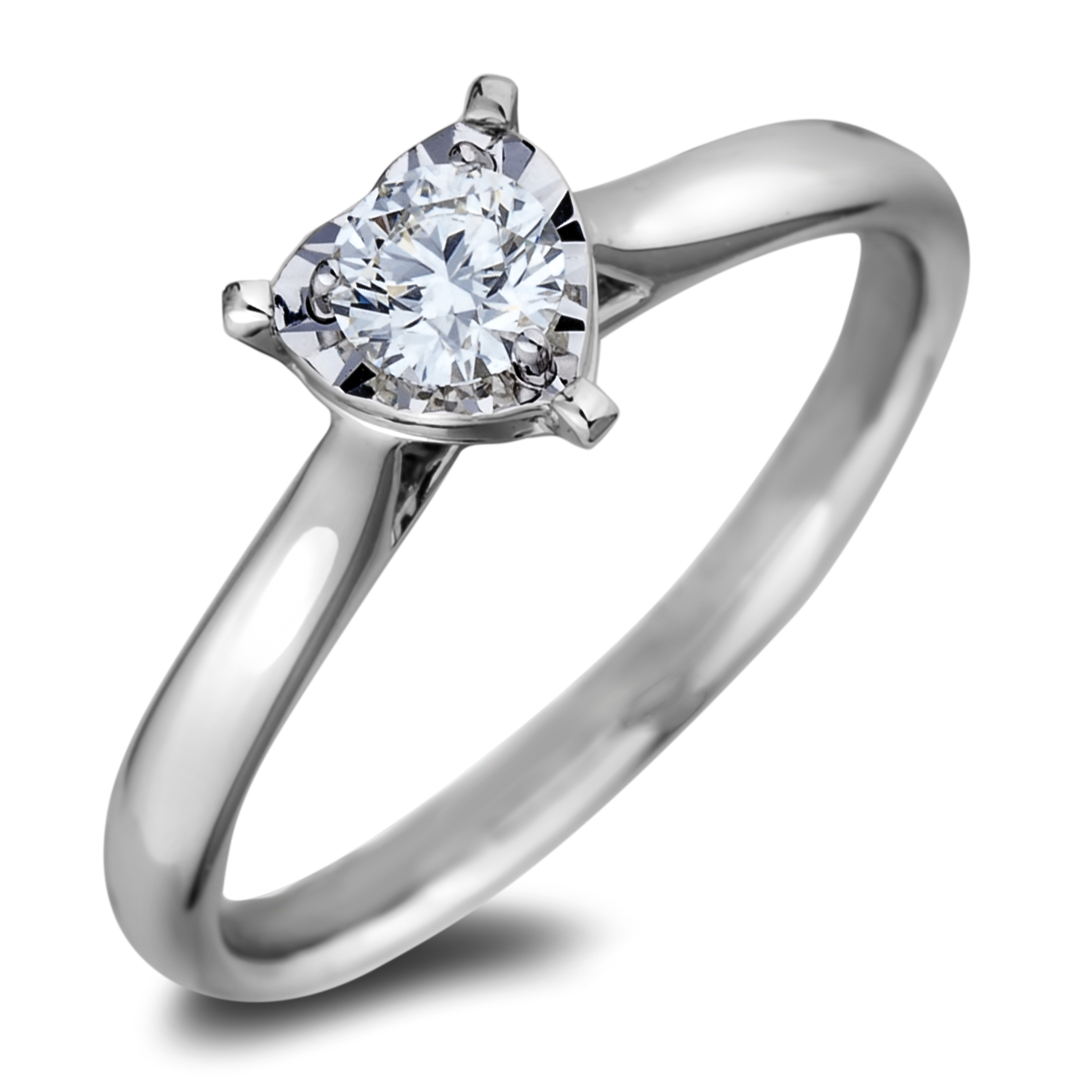 Diamond Solitaire Rings AFCR2130025 (Rings)