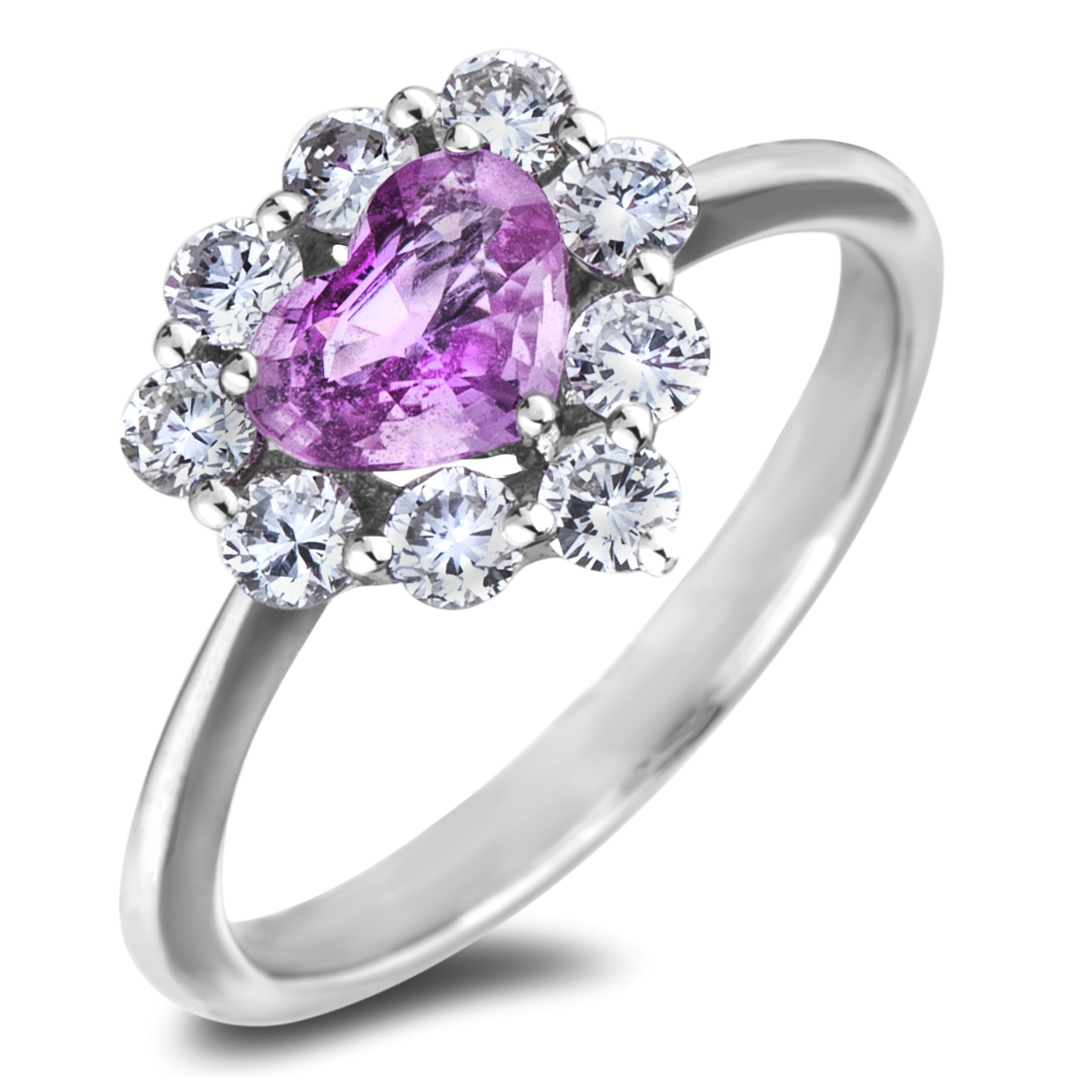 Diamond Engagement Rings CRL-PL-603536R03 (Rings)